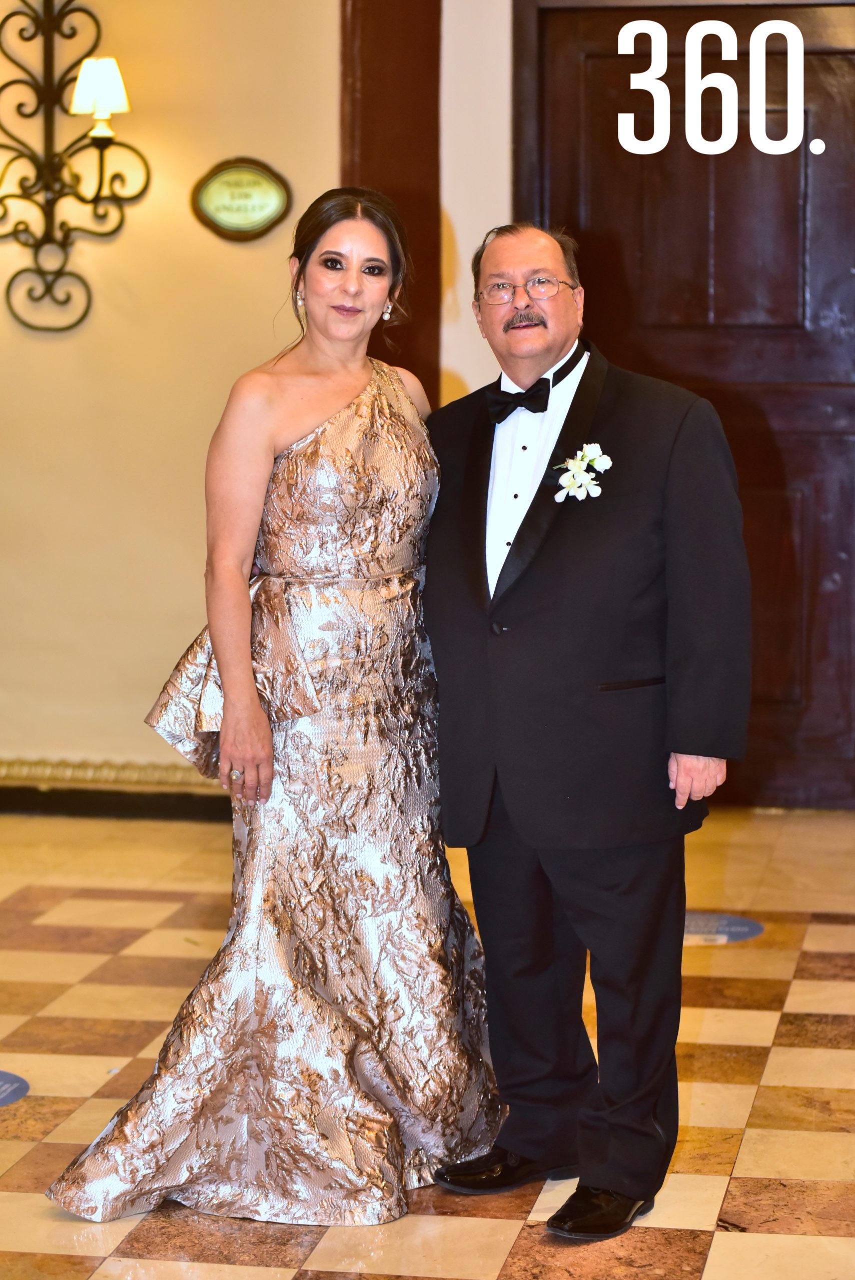 Coquina Hernández y José Luis de la Peña.