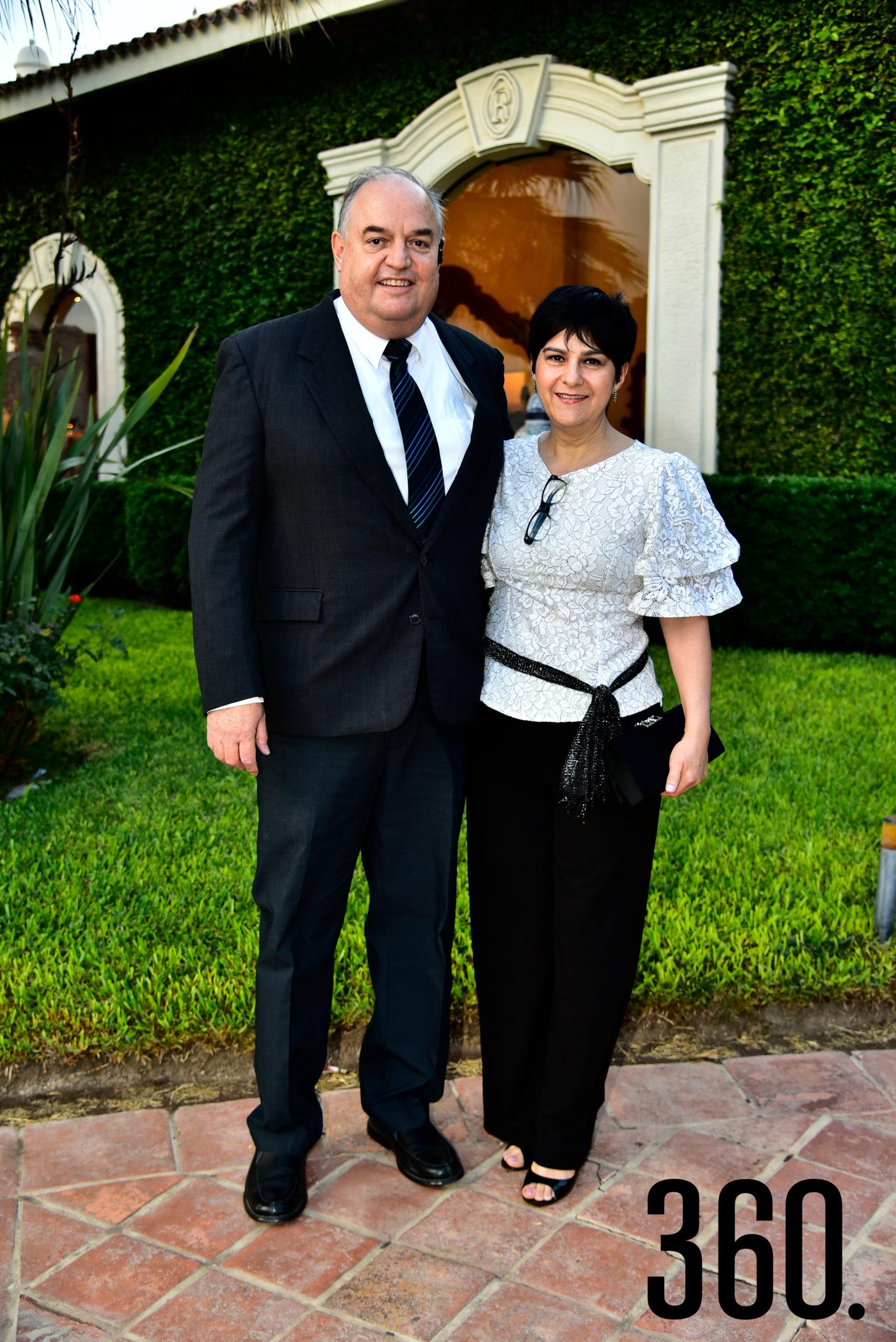 José María Galindo y Laura de Galindo.