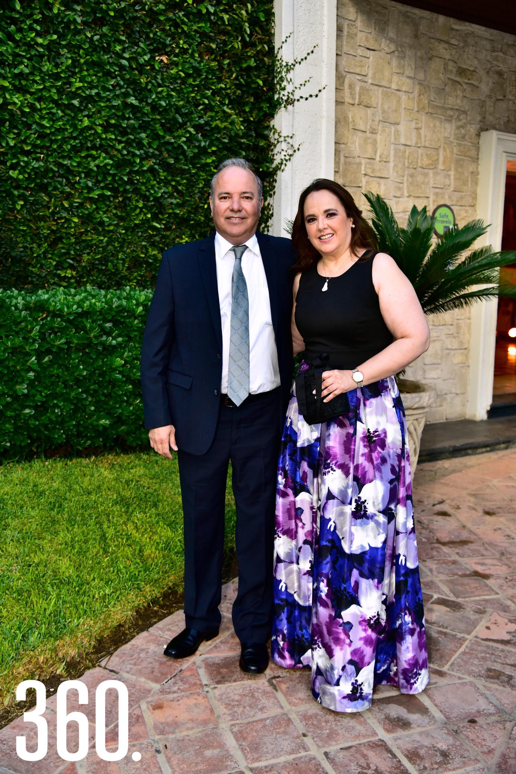 Alejandro Pepi y Lourdes Tafich.