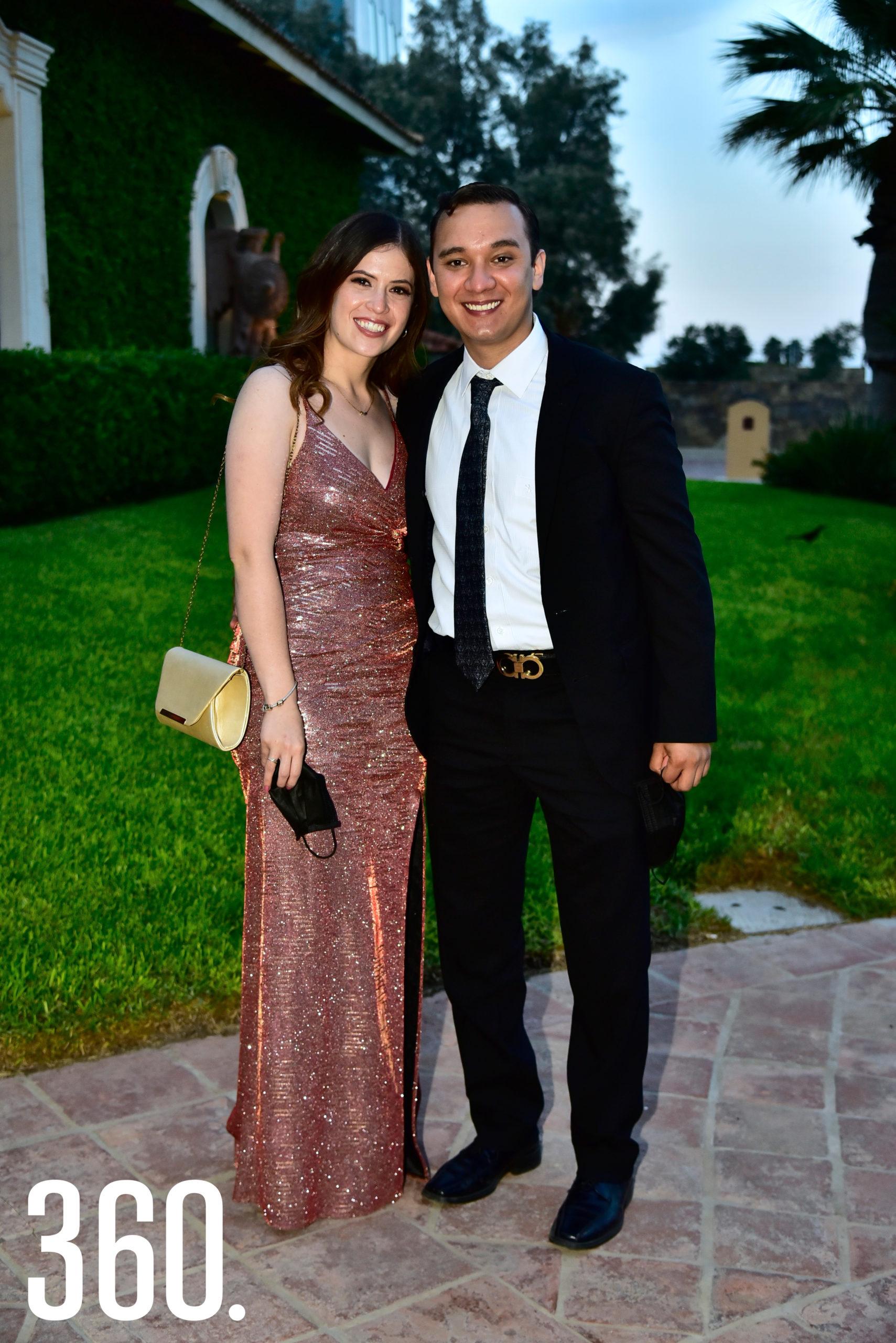 Andrea Fuentes y Samuel Hernández.