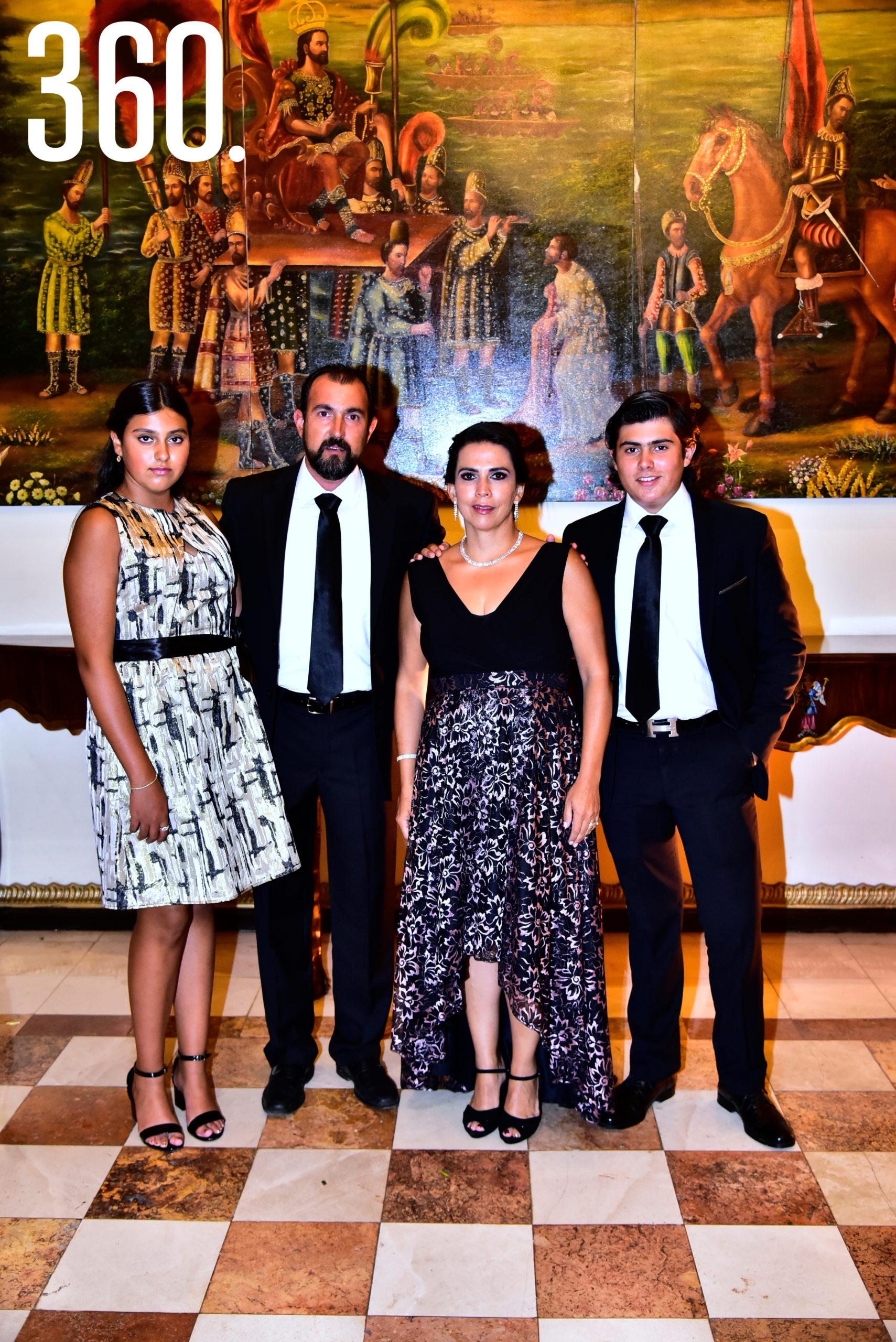 Familia Recio de la Peña.
