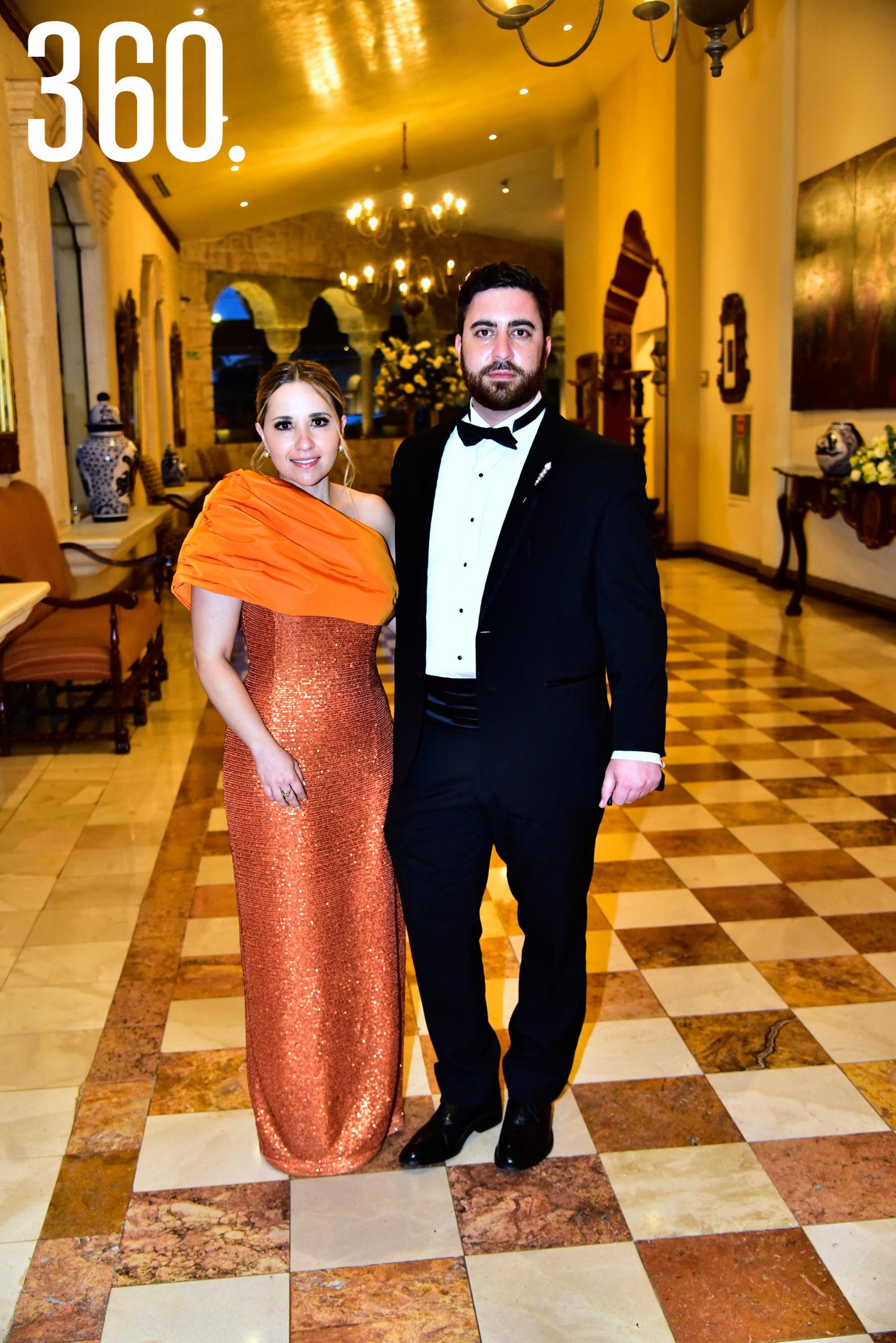 Claudia Valdés y Guillermo García.
