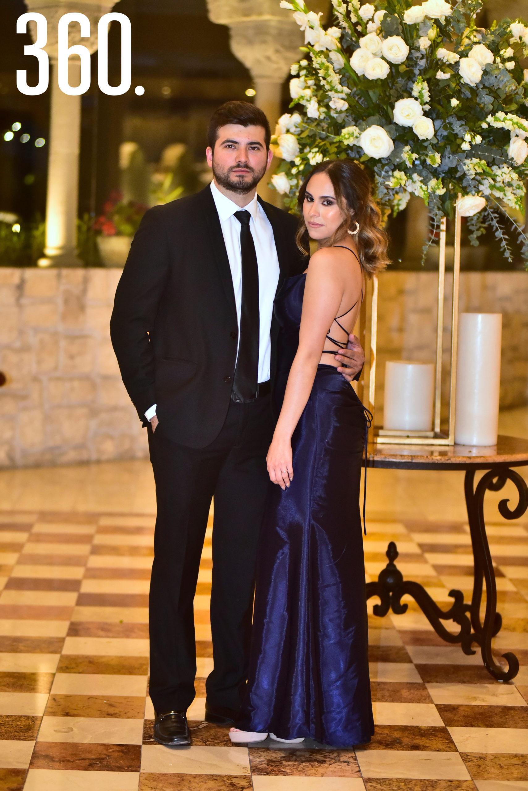 Jorge de la Peña y Mayra García.