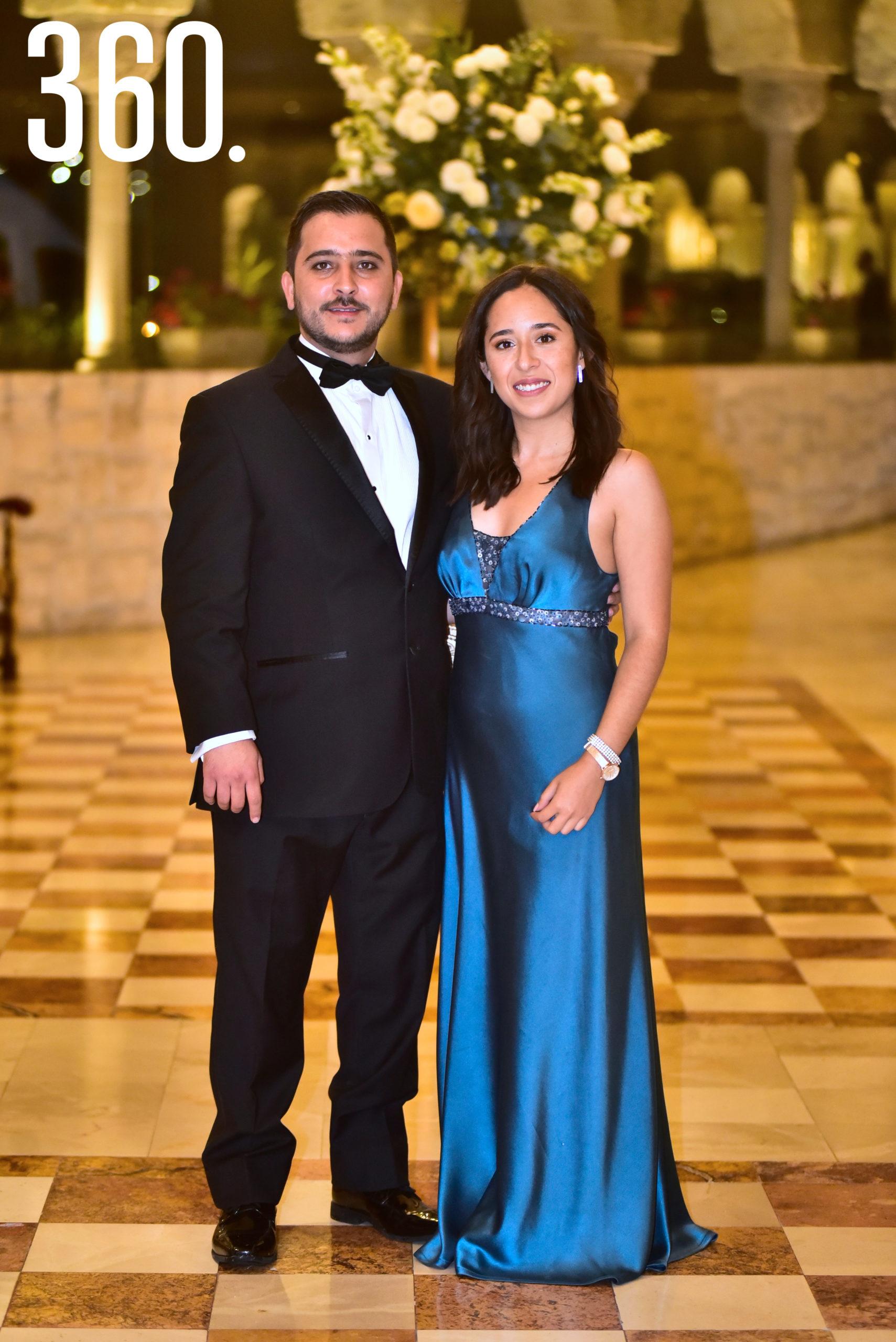 José Luis de la Peña y Adriana Espinoza.