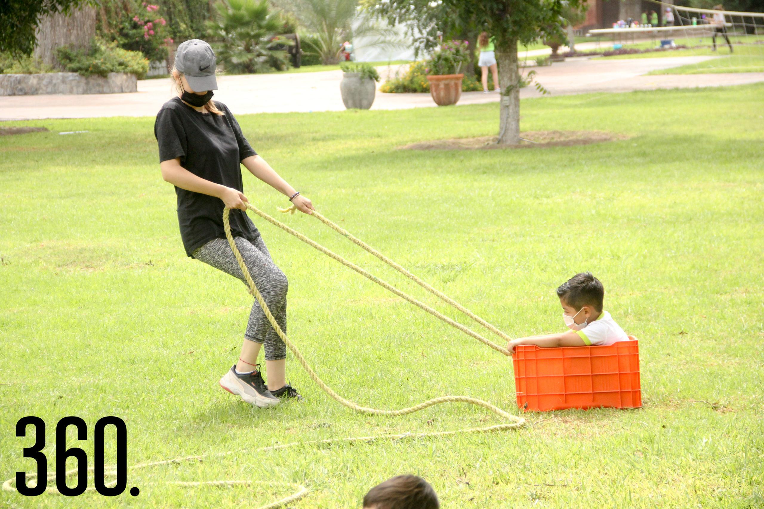 Niños participantes disfrutaron de actividades.