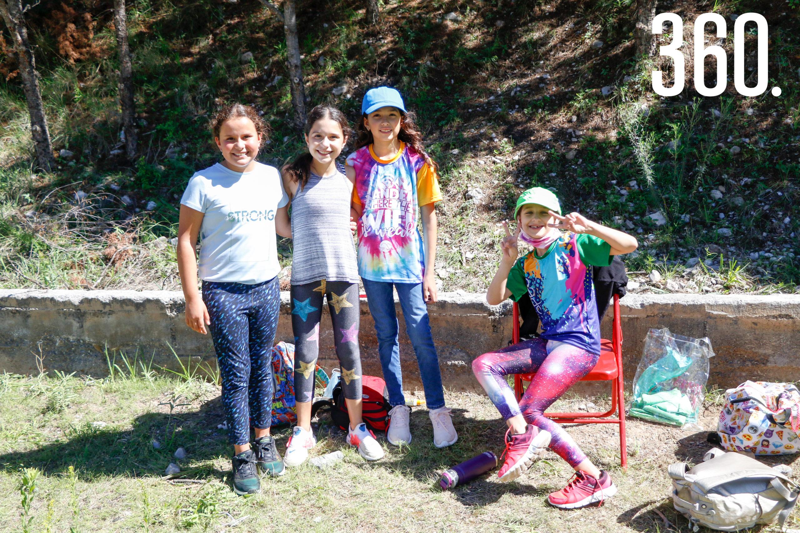 Paulina Enciso, Chantal Salazar, Miranda García y Catalina Peña.