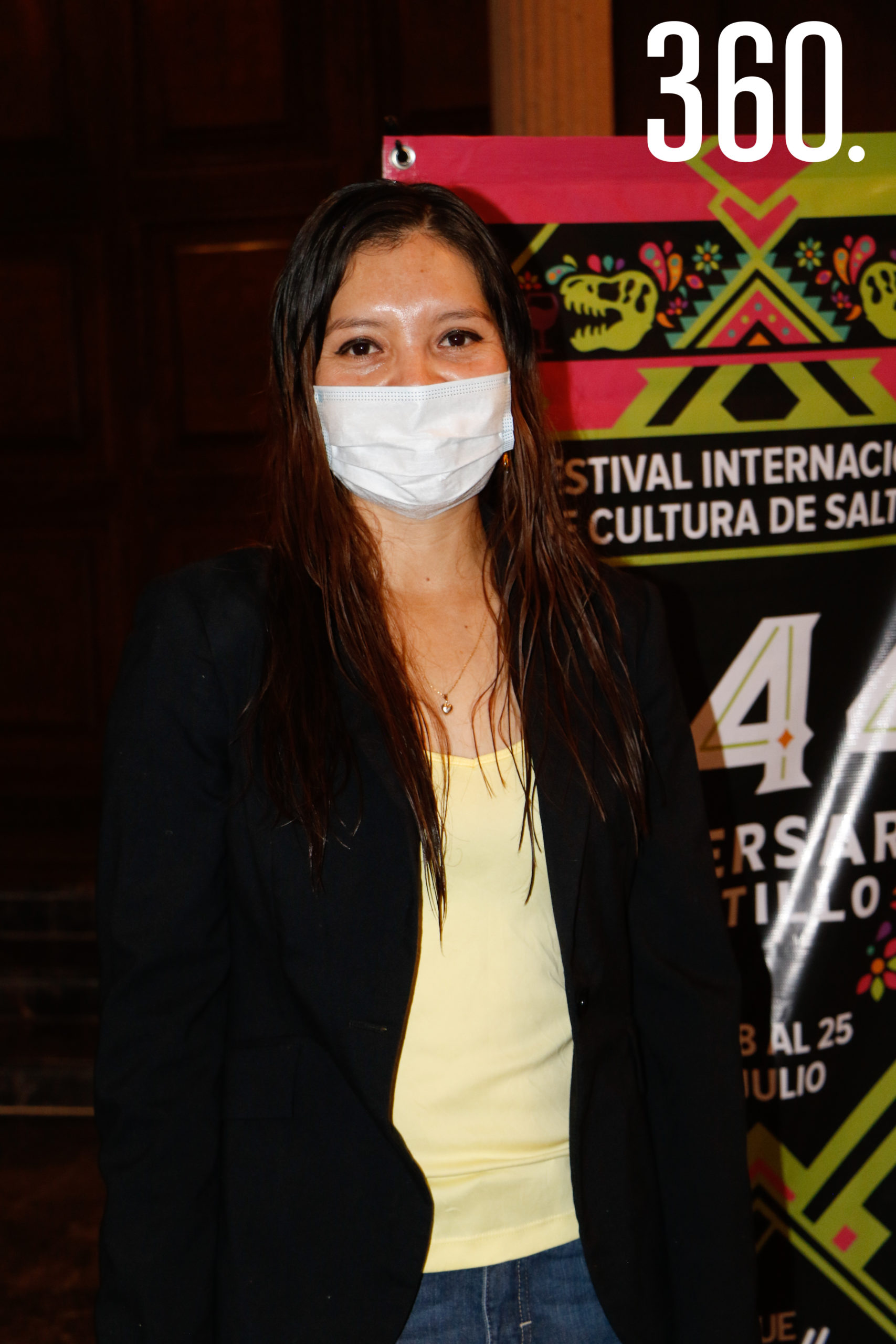 Valeria de la Cruz.
