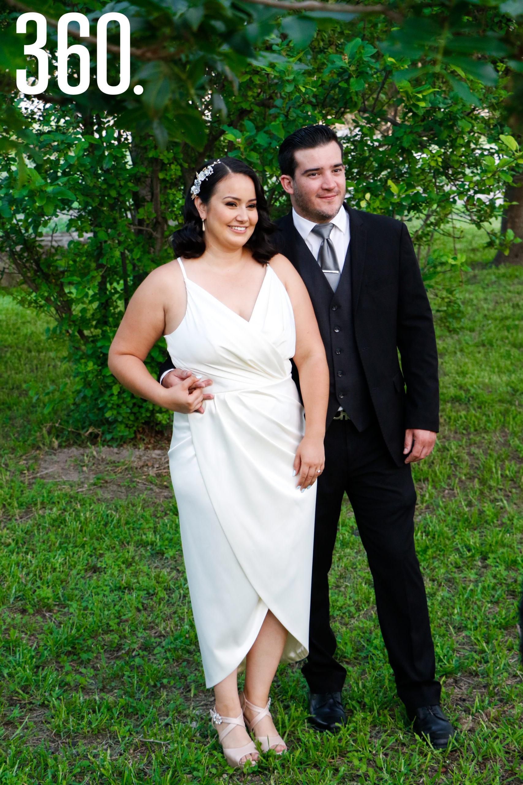 Paulina Rangel y Gaspar Reyes.