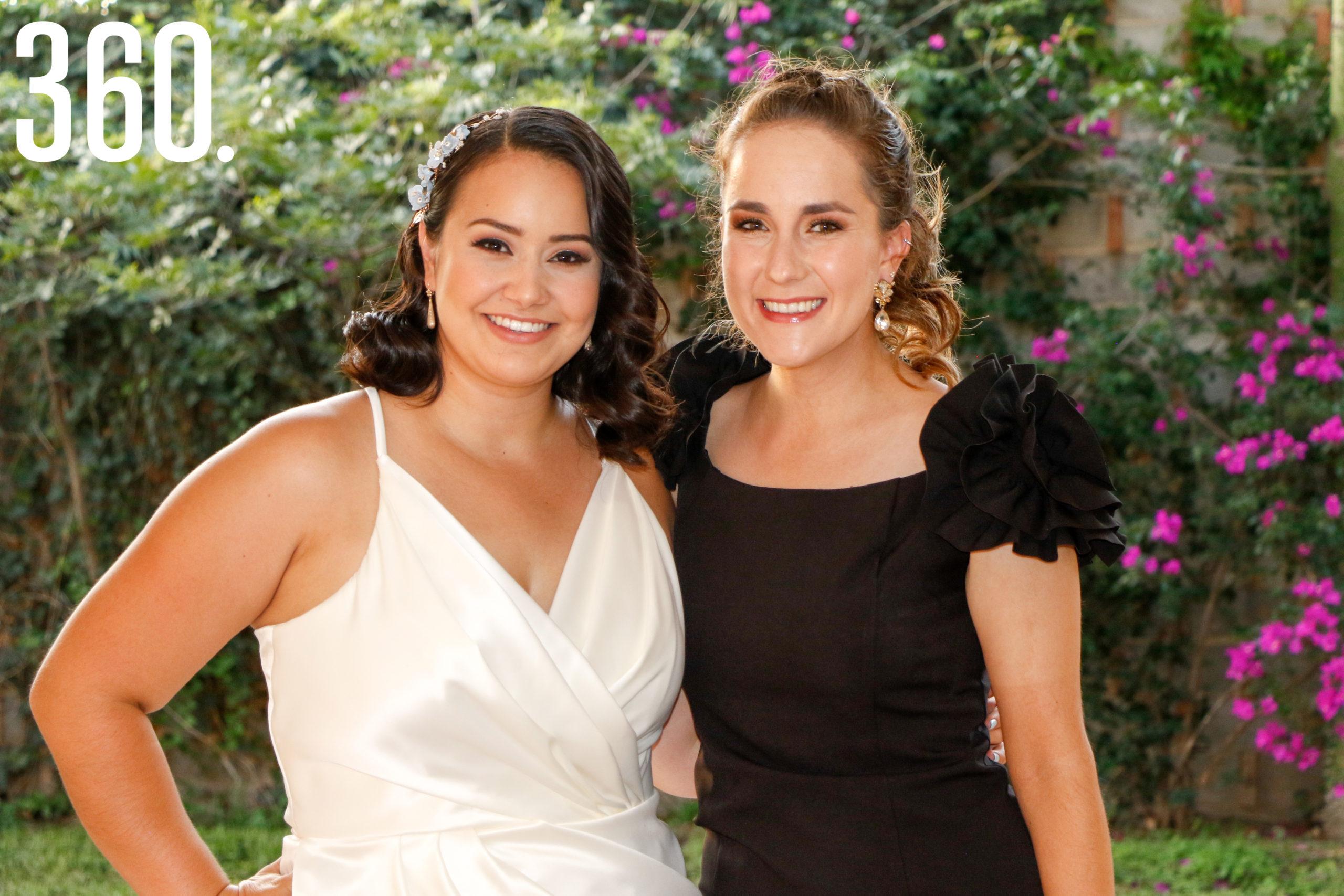 Paulina Rangel y Orvilia Flores.