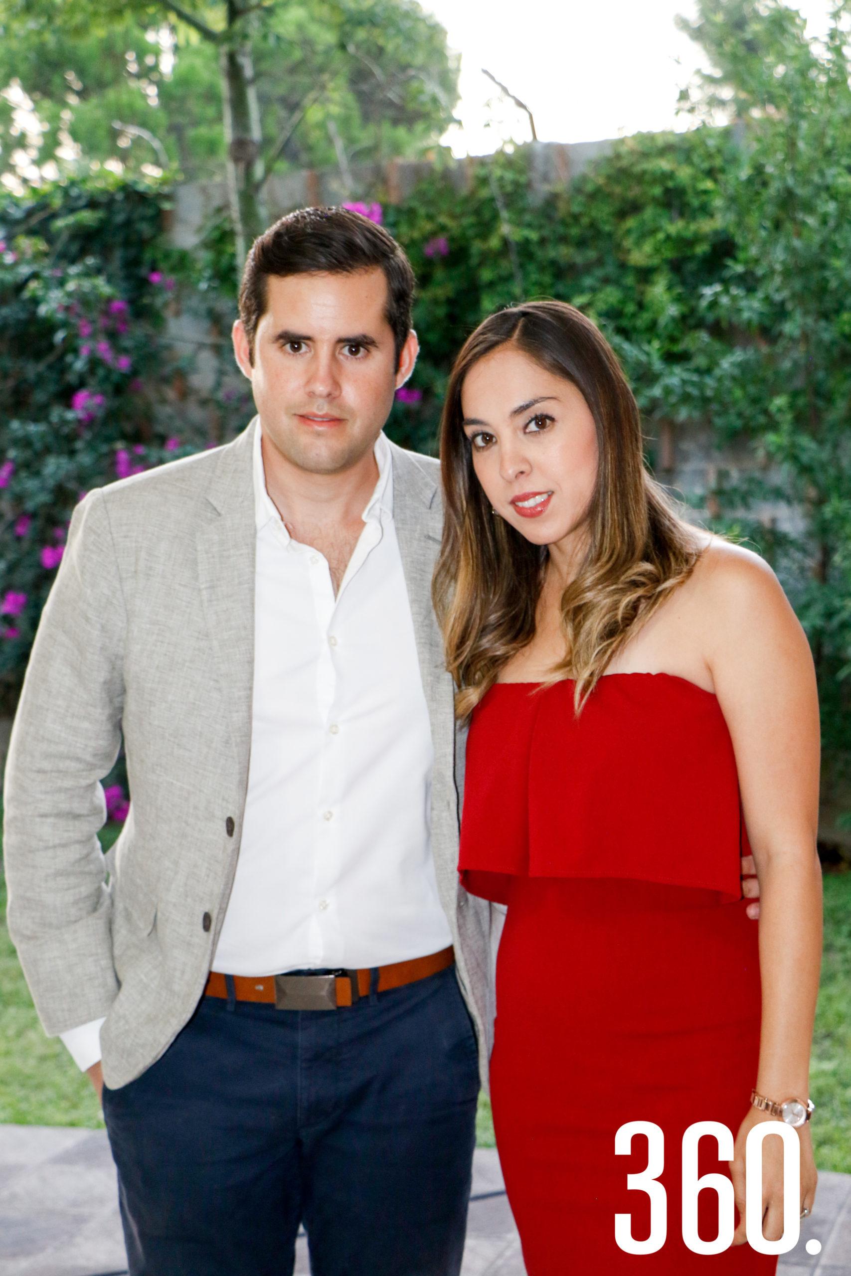 Francisco Martín y Marcela Valdés.