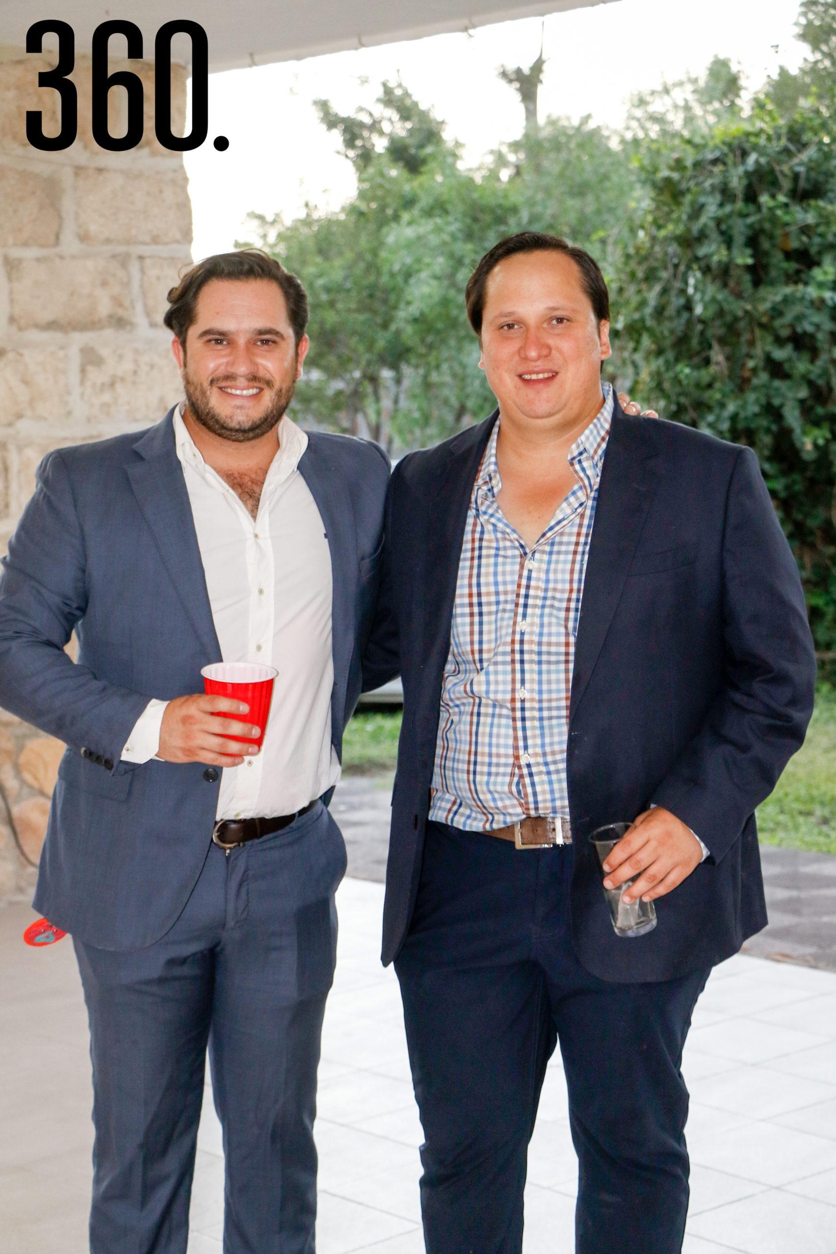 Eduardo Peart y Miguel de las Fuentes.