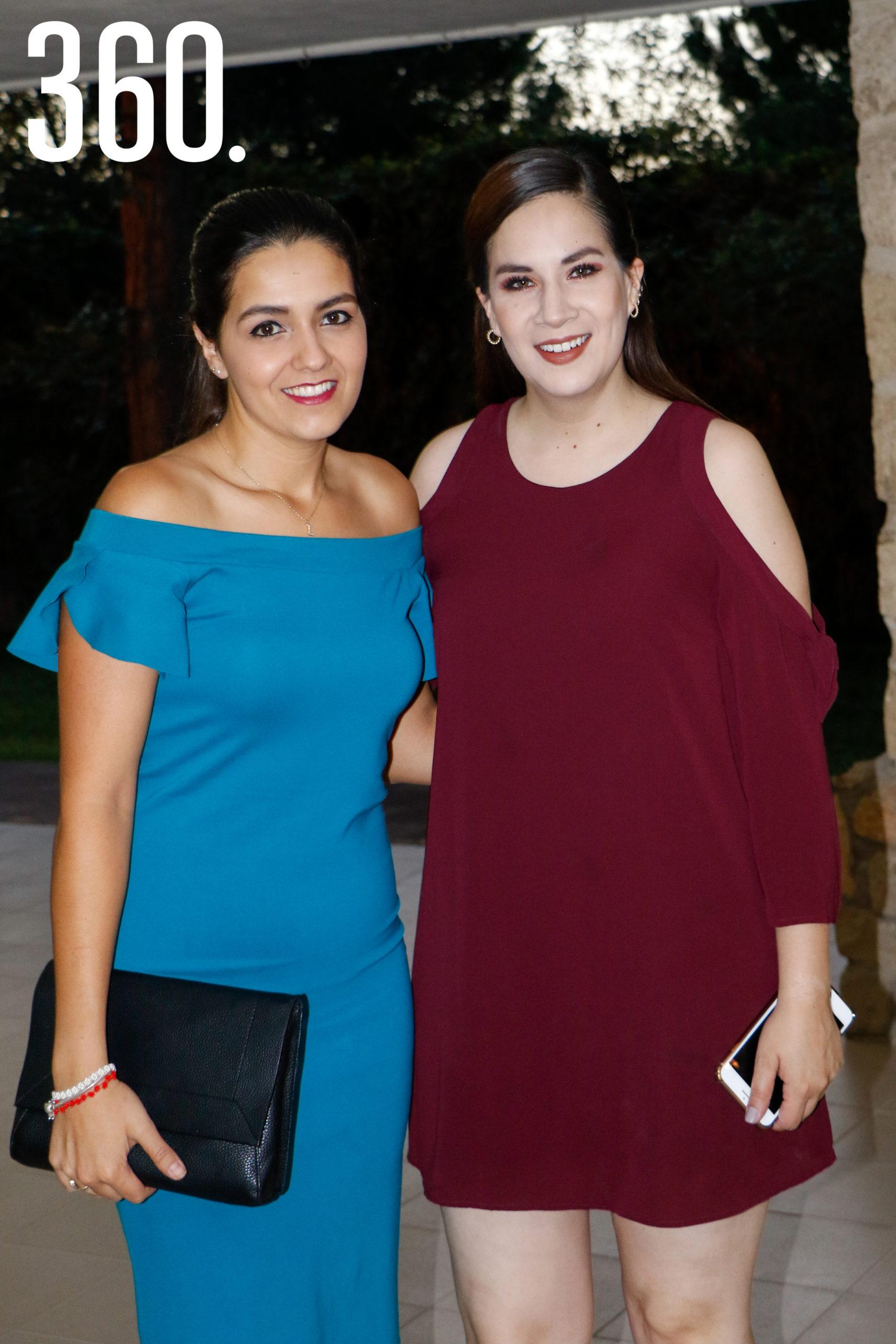 Lorena Fraustro y Alejandra Reinaga.