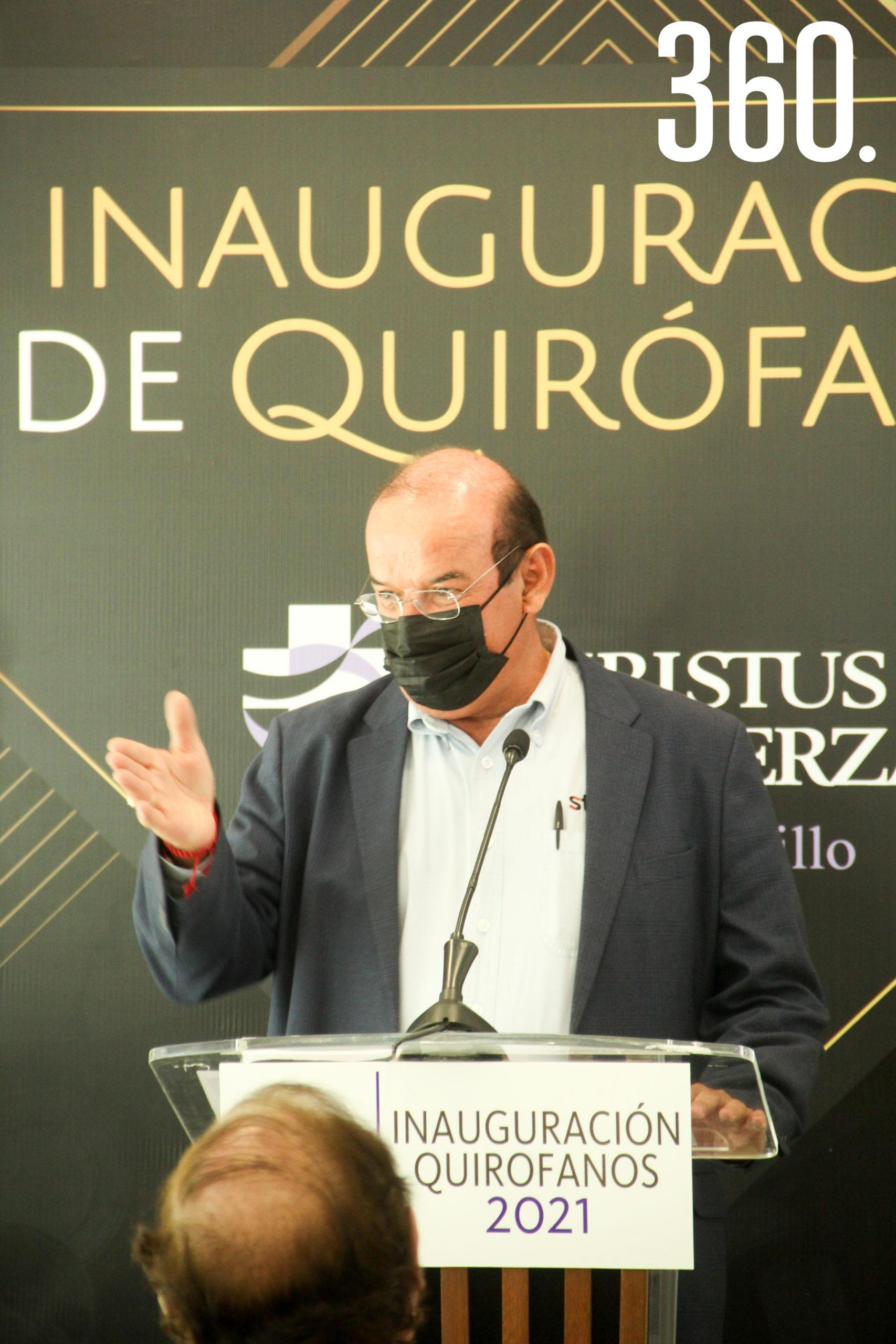 Jaime Guerra, Director de Desarrollo Económico en Coahuila.