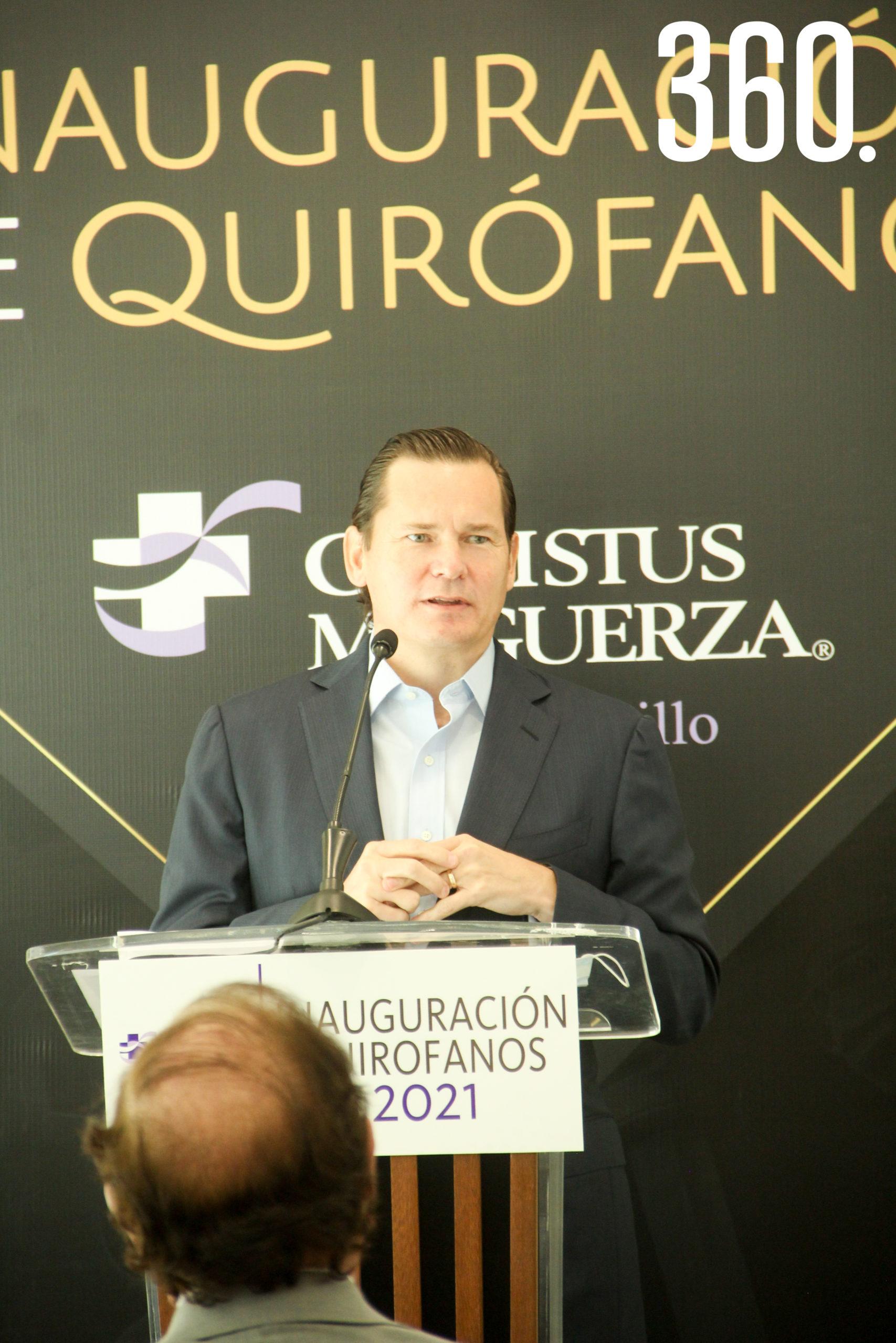 Mauricio Zambrano, Director de operaciones de Christus Muguerza.