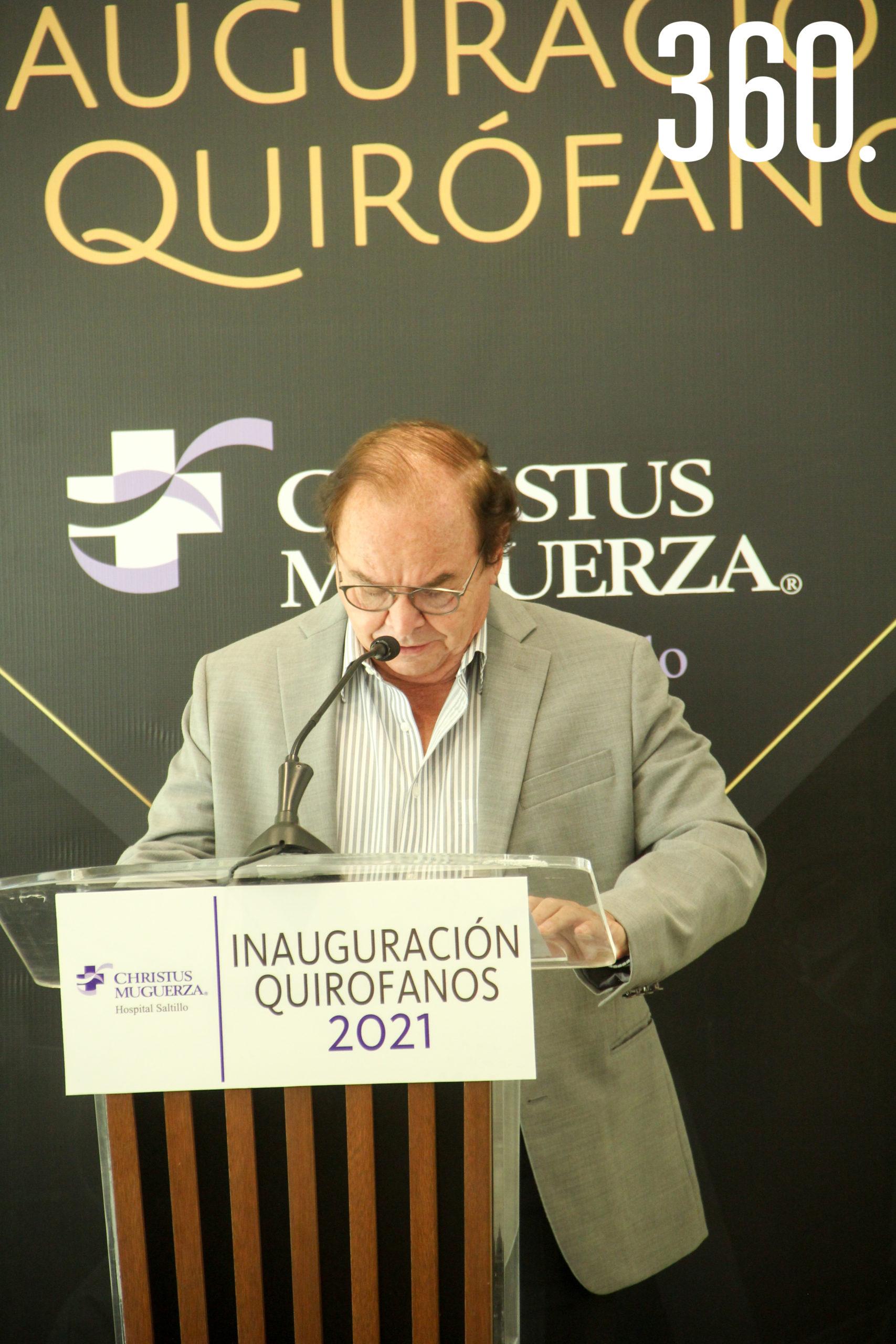 Dr. Eliud Felipe Aguirre.