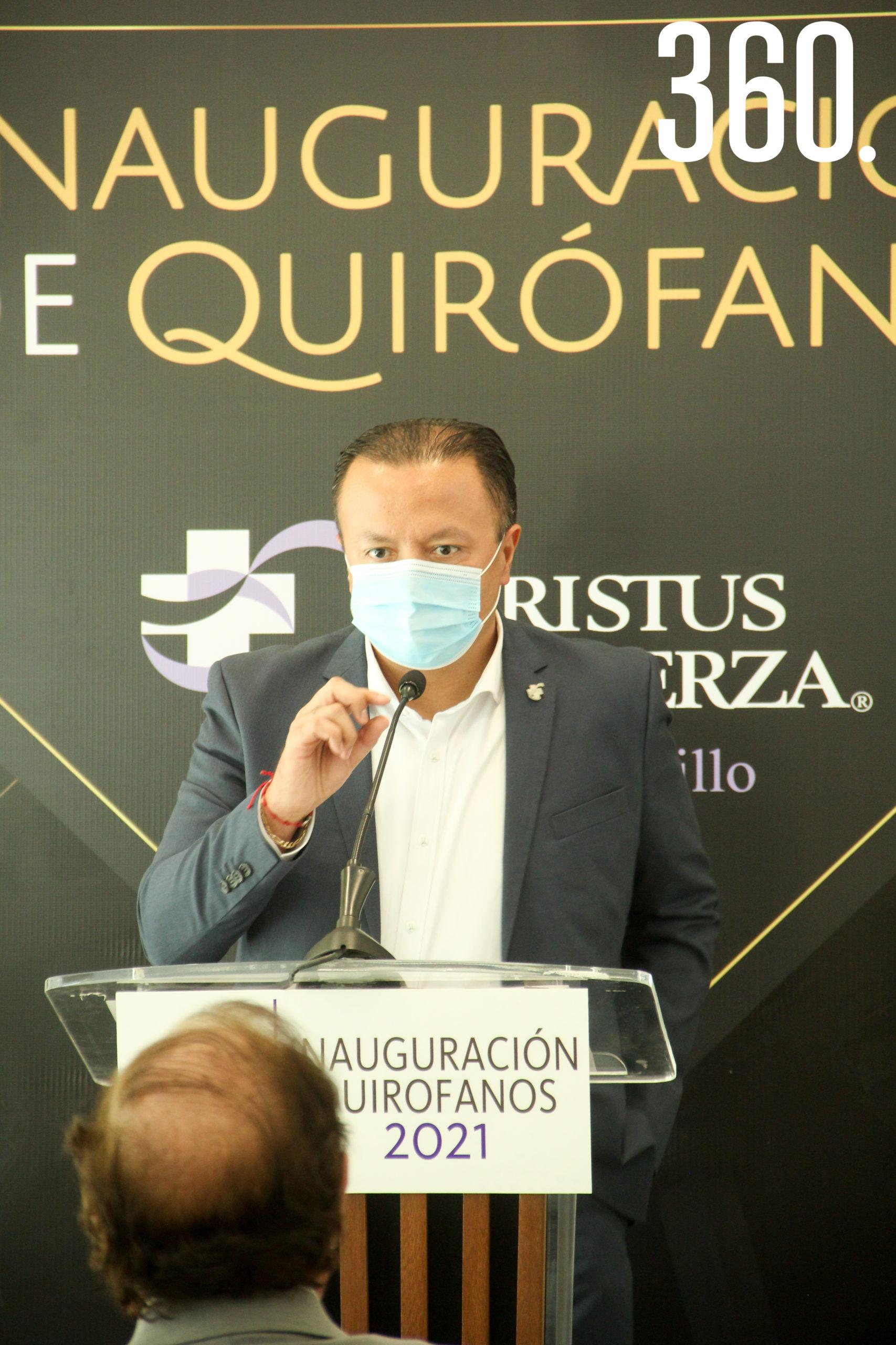 Carlos Montemayor, Director de Christus Muguerza Saltillo.