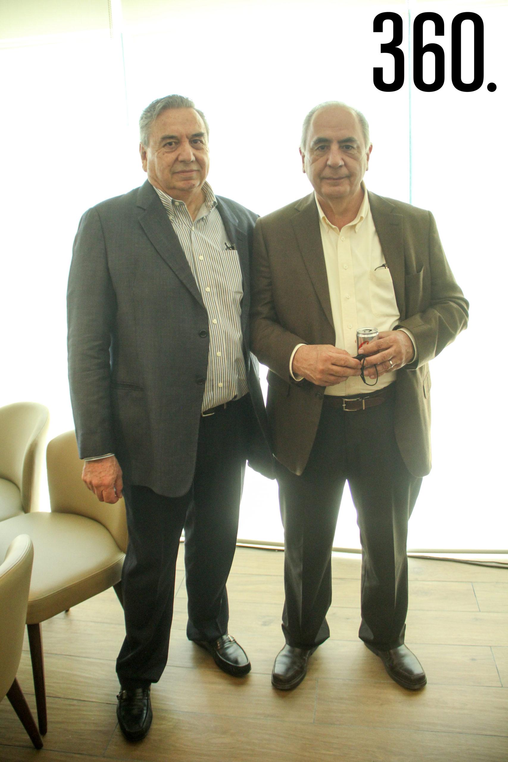 Eulalio Gutiérrez y Federico Díaz.