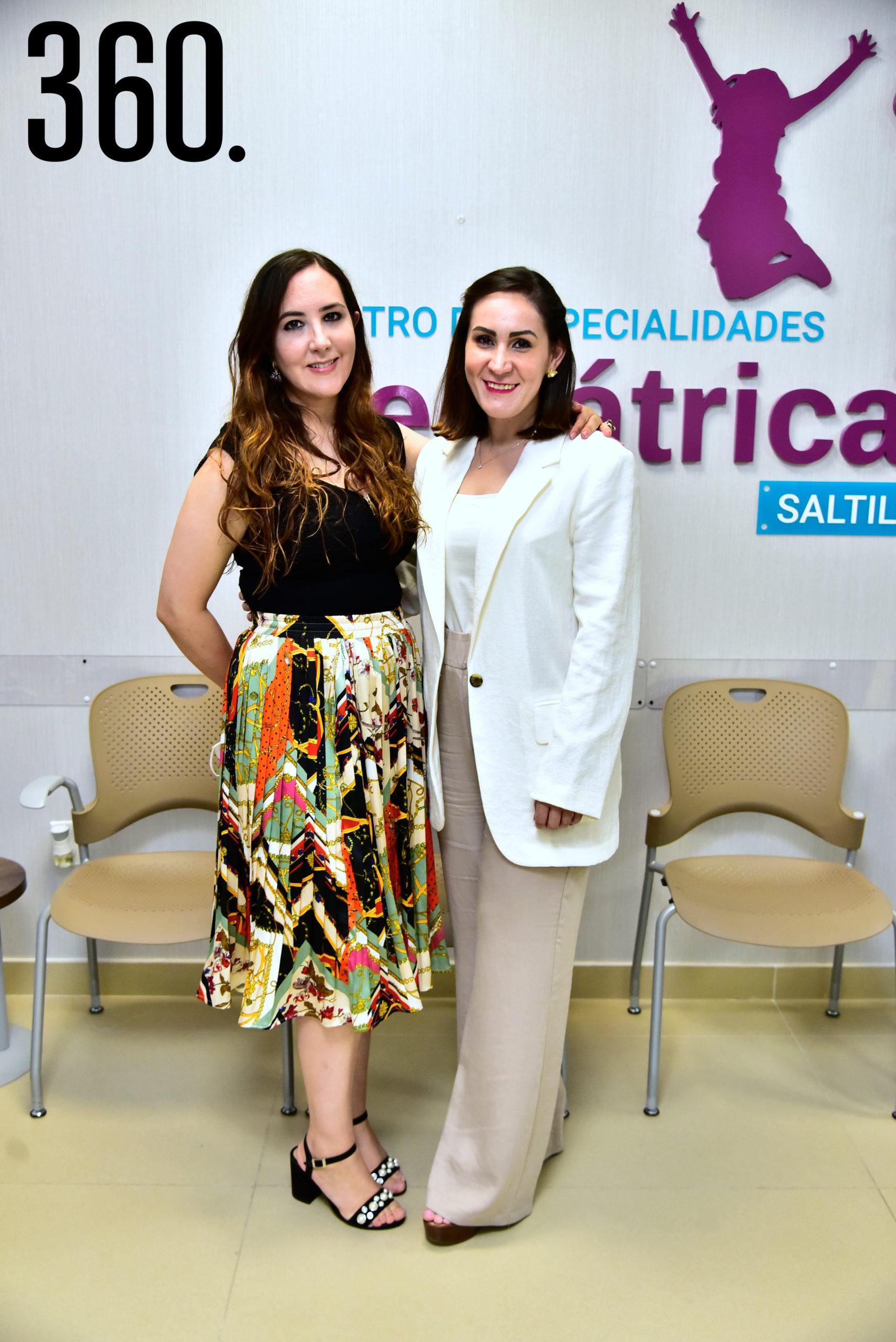 Diana Dávila y Brenda Hernández.