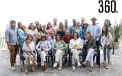 La familia de Tey Castilla de Torres organizó una comida en los Viñedos Los Cedros para festejar el aniversario.
