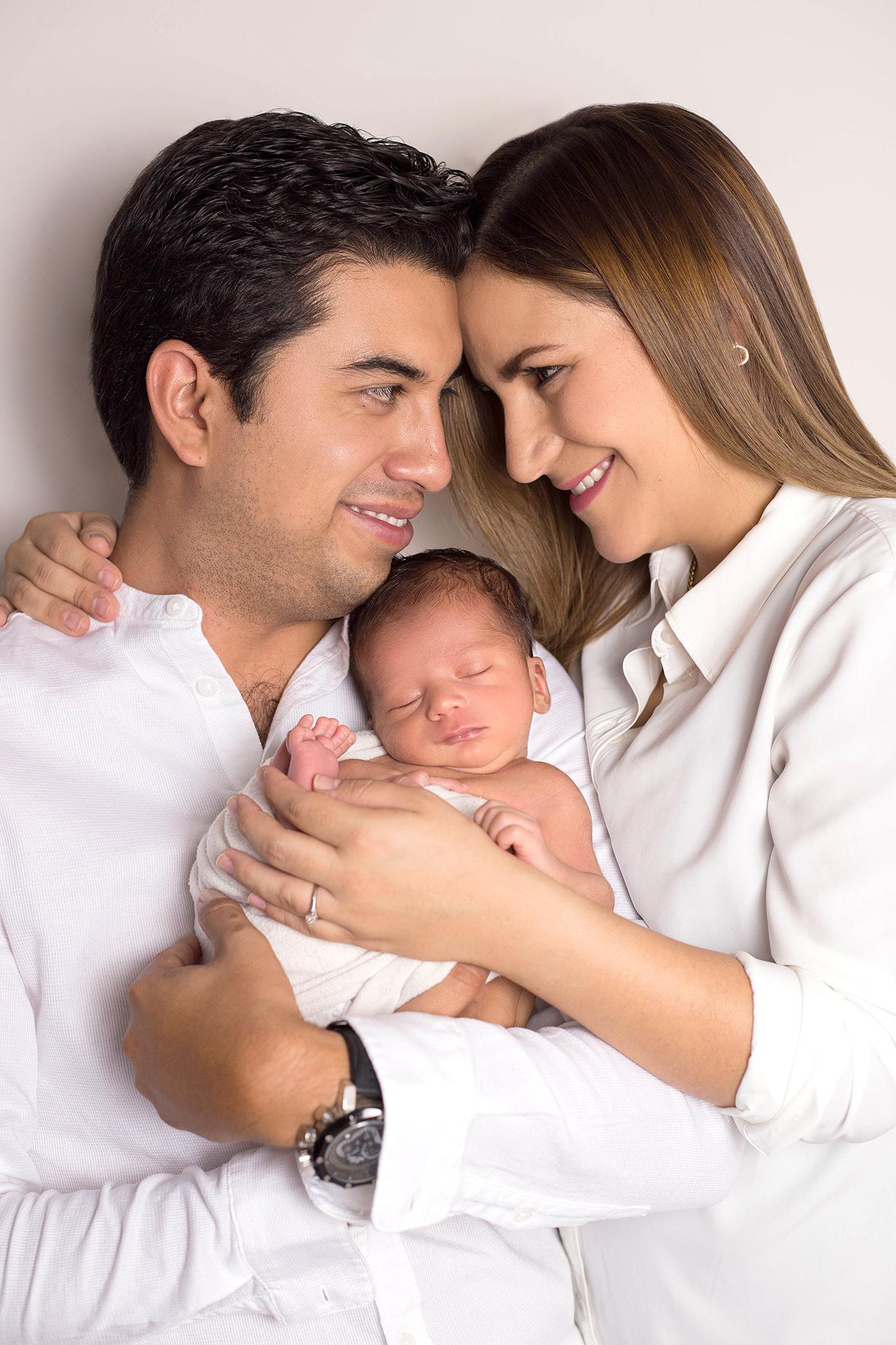 Alexis nació en el Centro Hospitalario La Concepción.