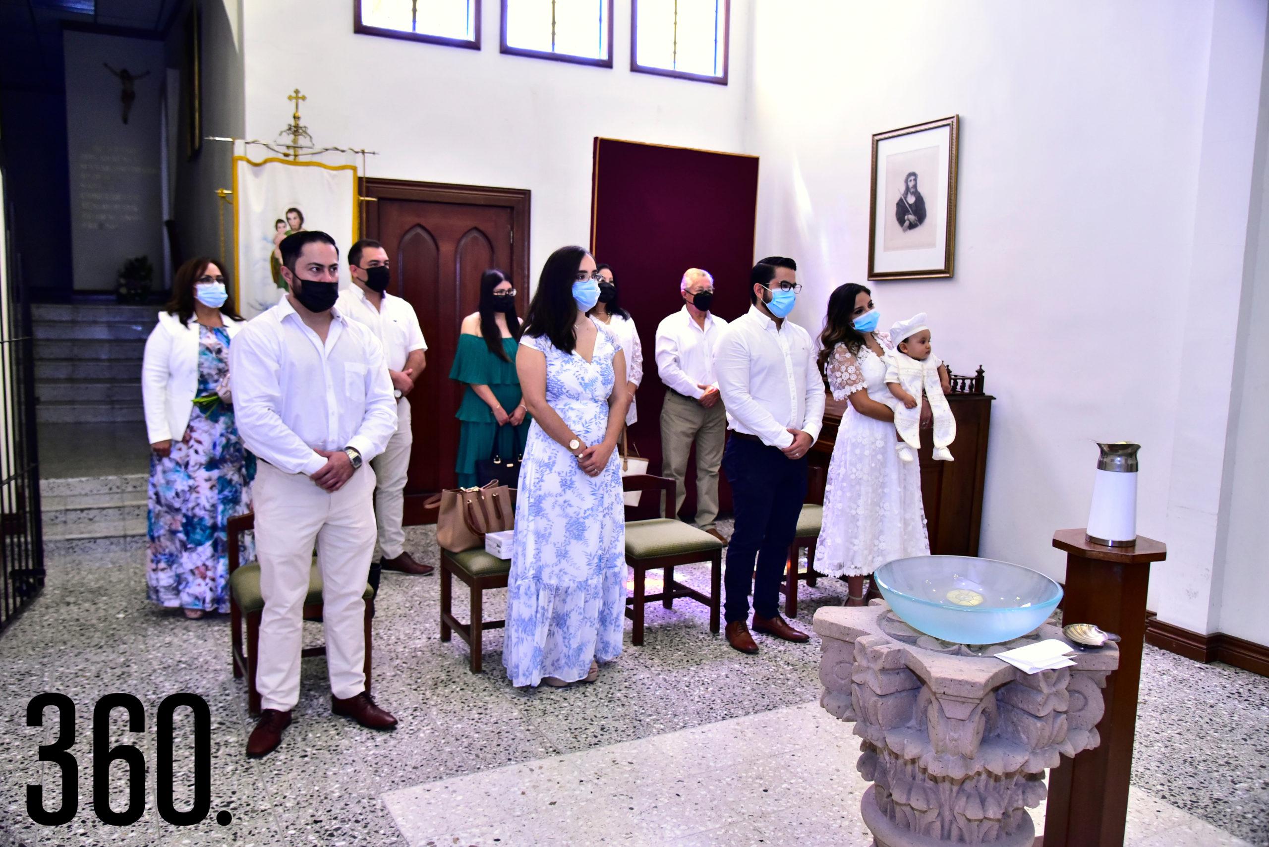 Durante la ceremonia religiosa.