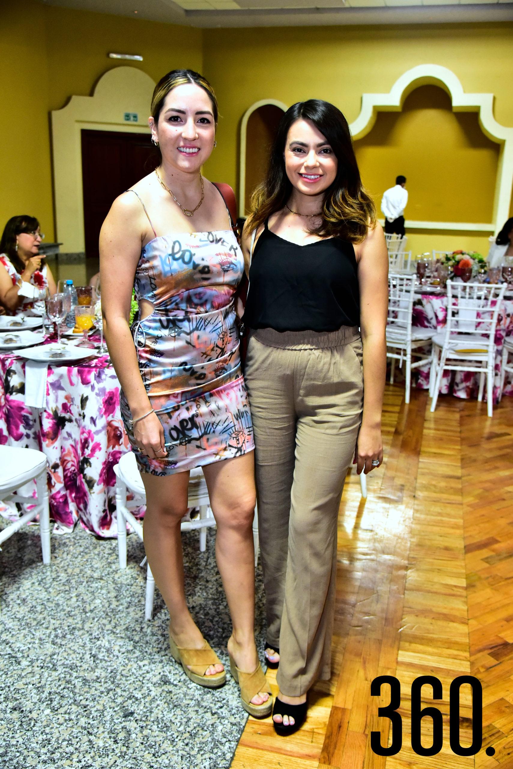 Alexia Gil y Rebecca Hoffman.
