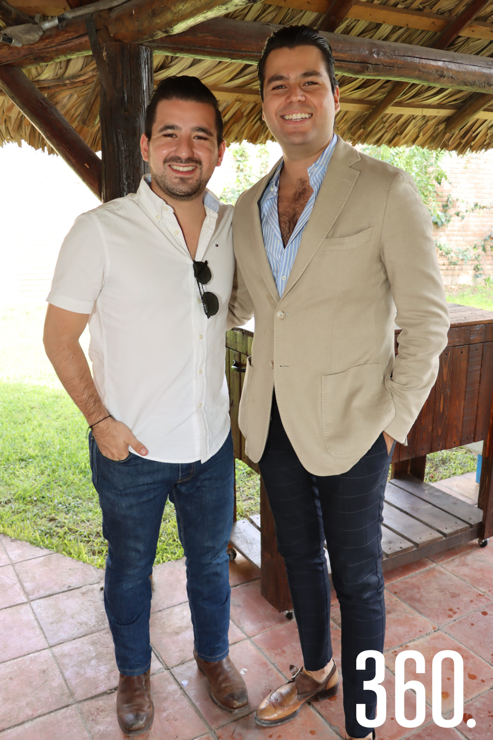Luis Armando González y Rodrigo Carbajal.