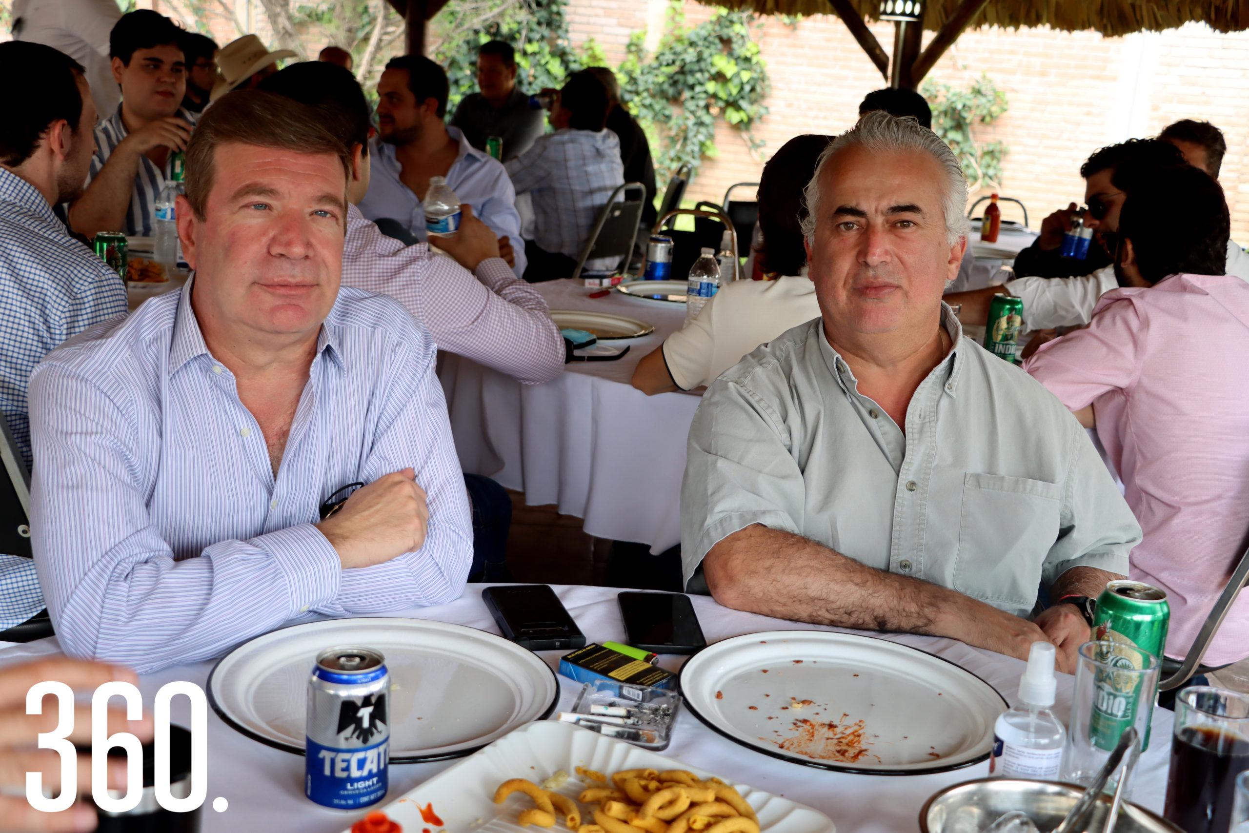Israel Rodríguez y Felipe Zambrano.