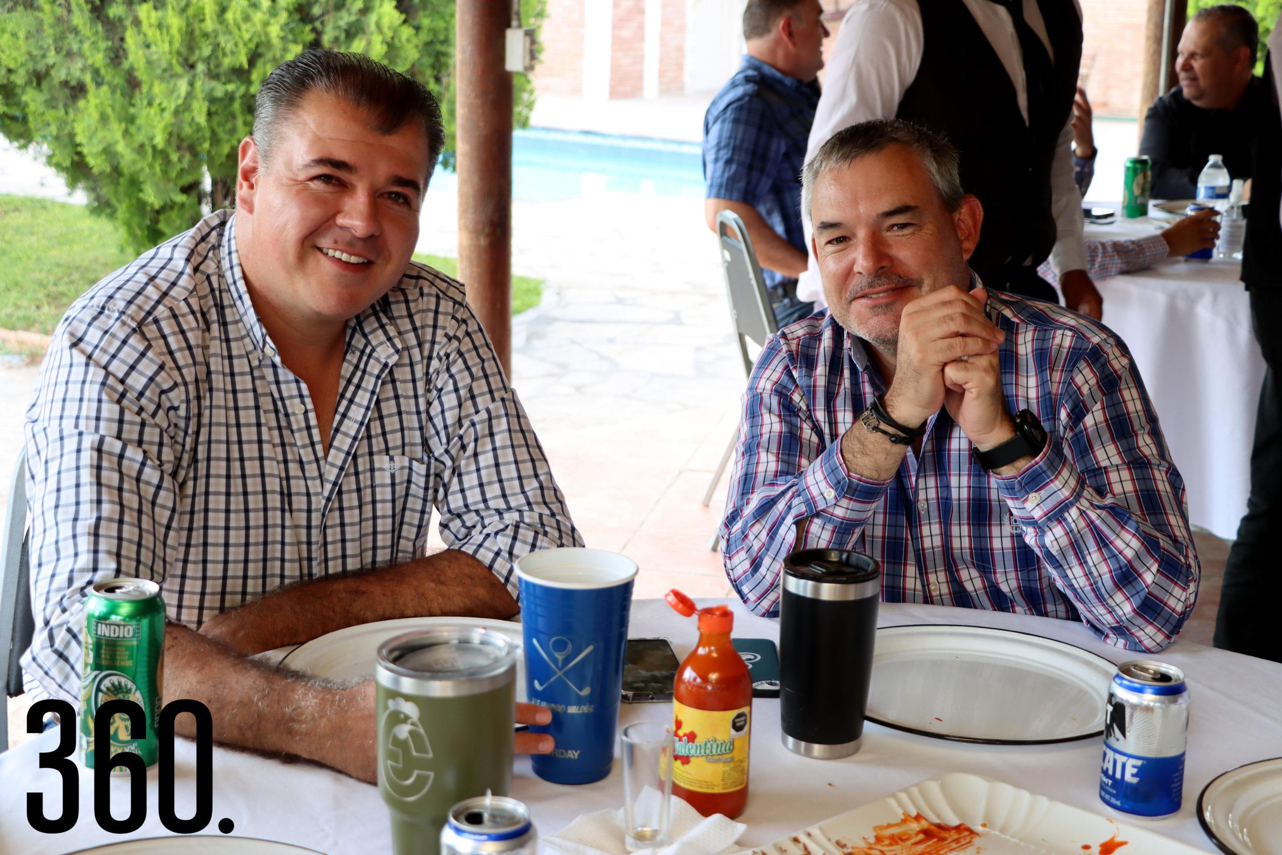 Alejandro Valdés y Gerardo Quezada.