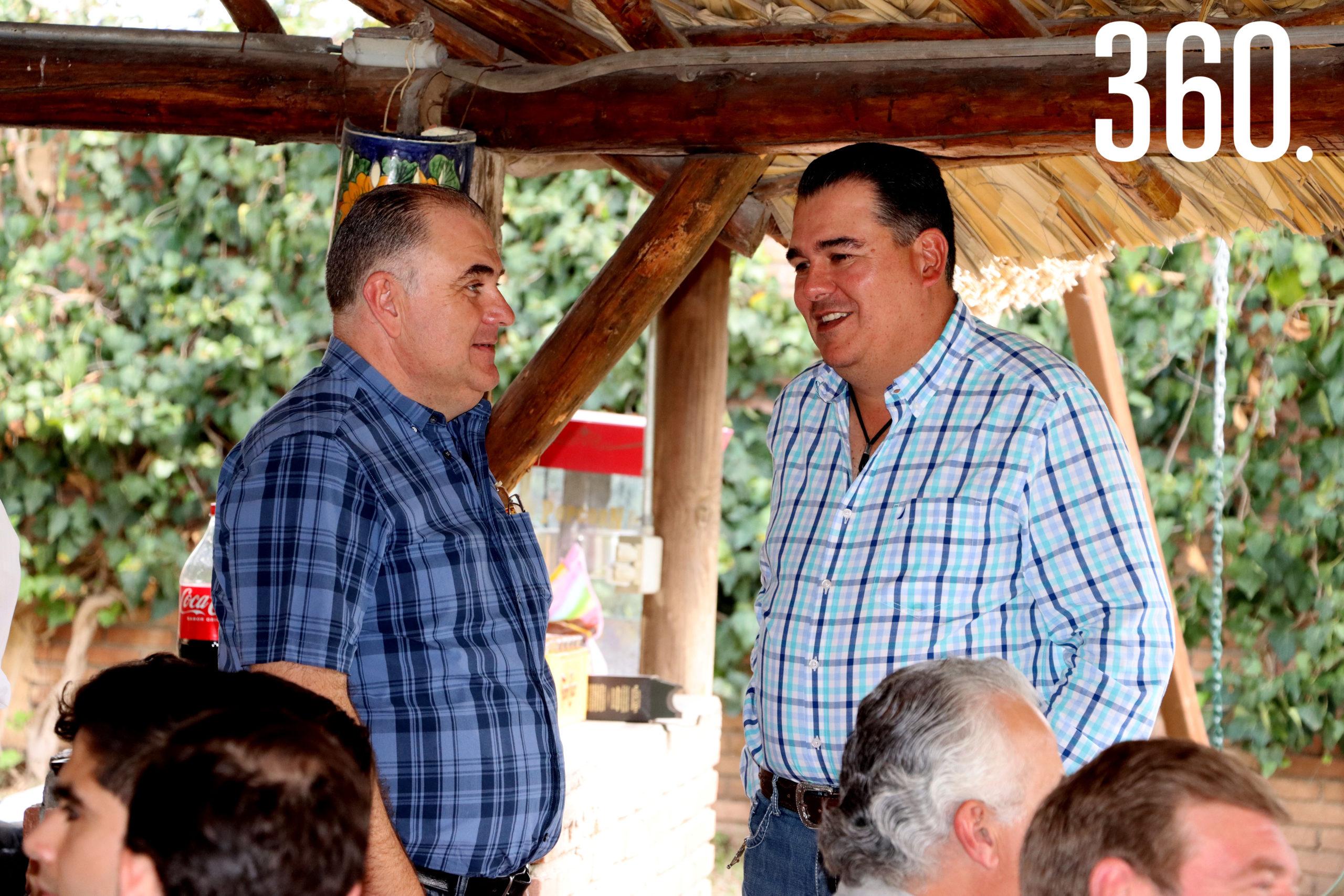 José Luis Dávila y Oscar Valdés.