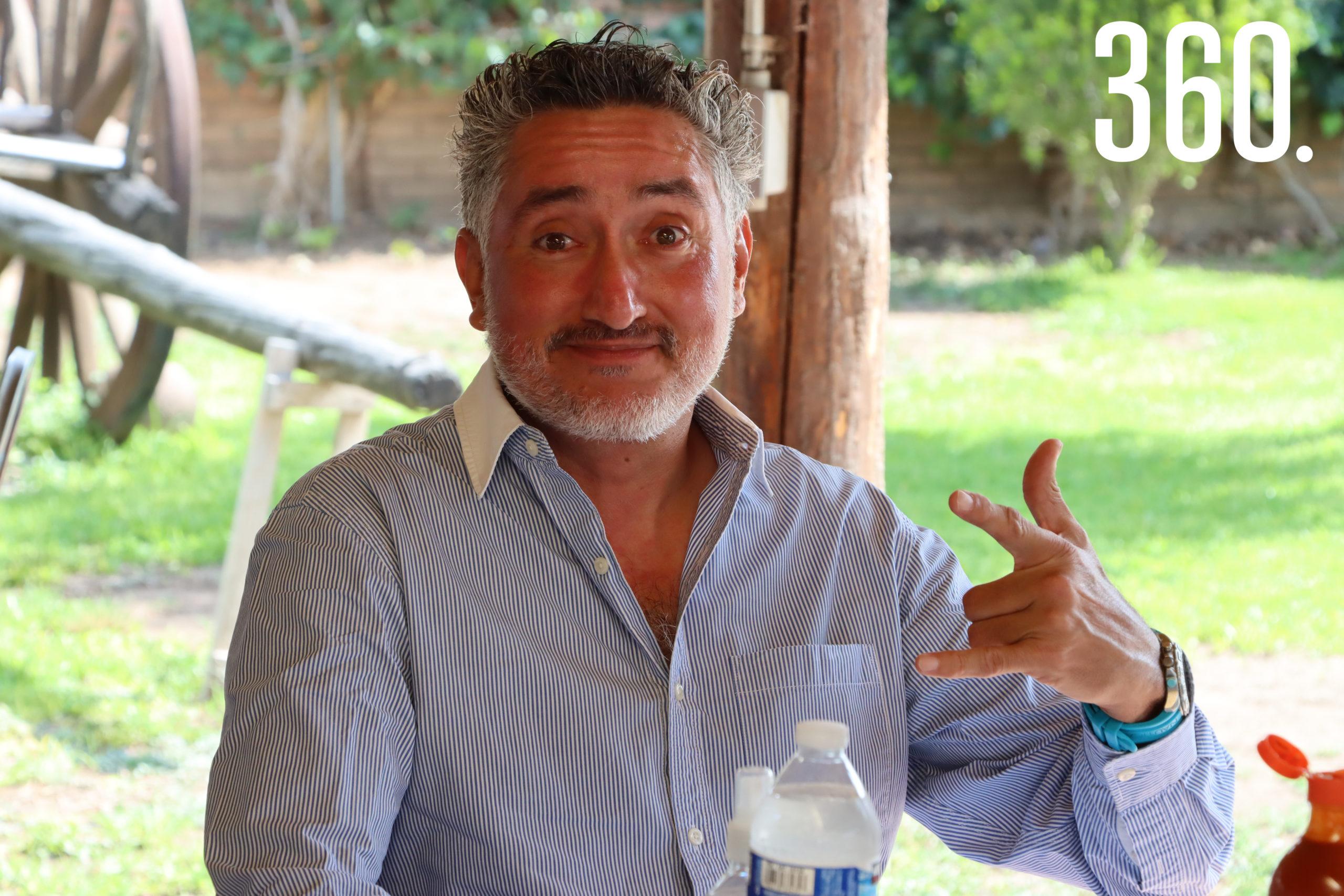 Marco Gómez.
