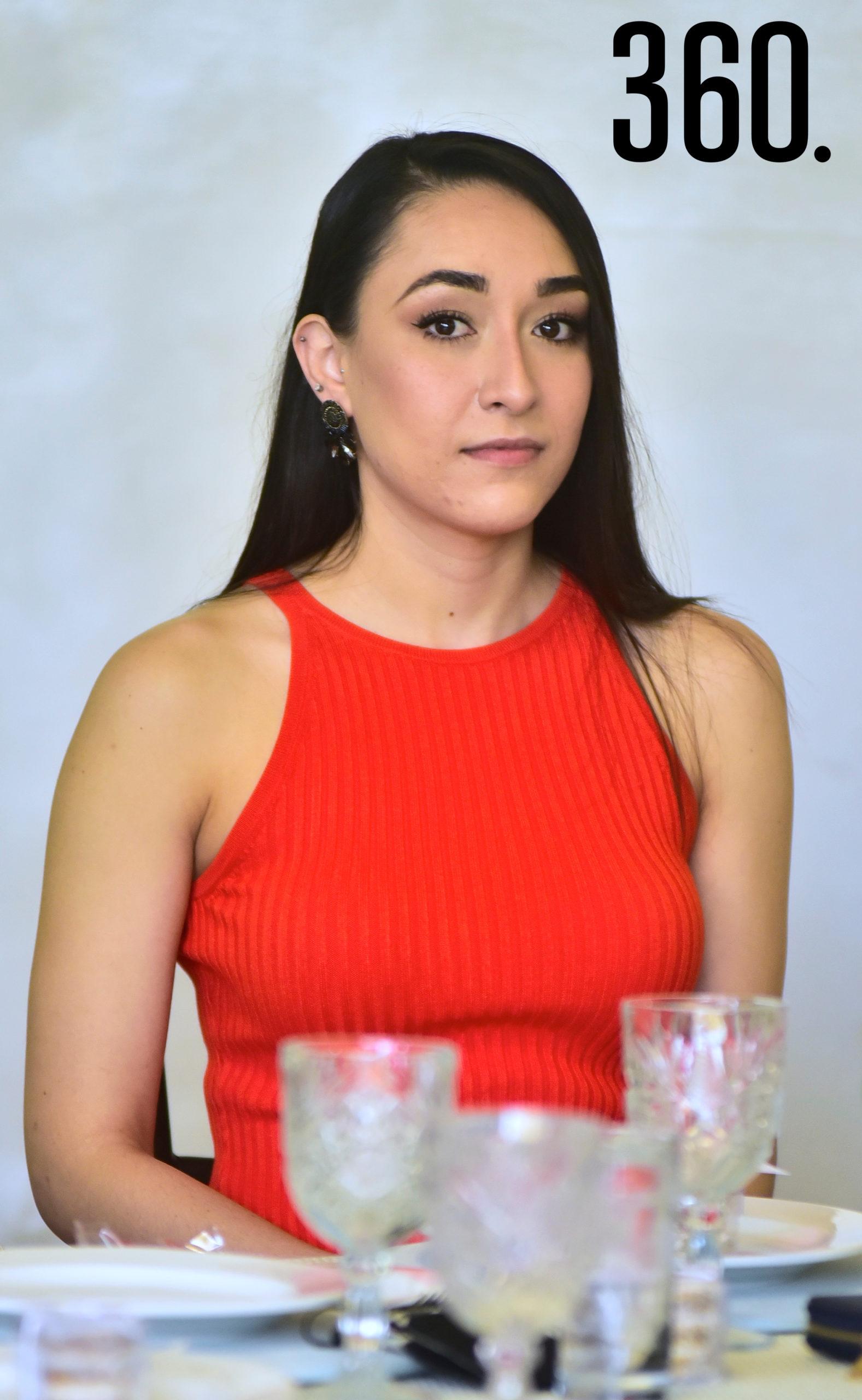 Andrea García.