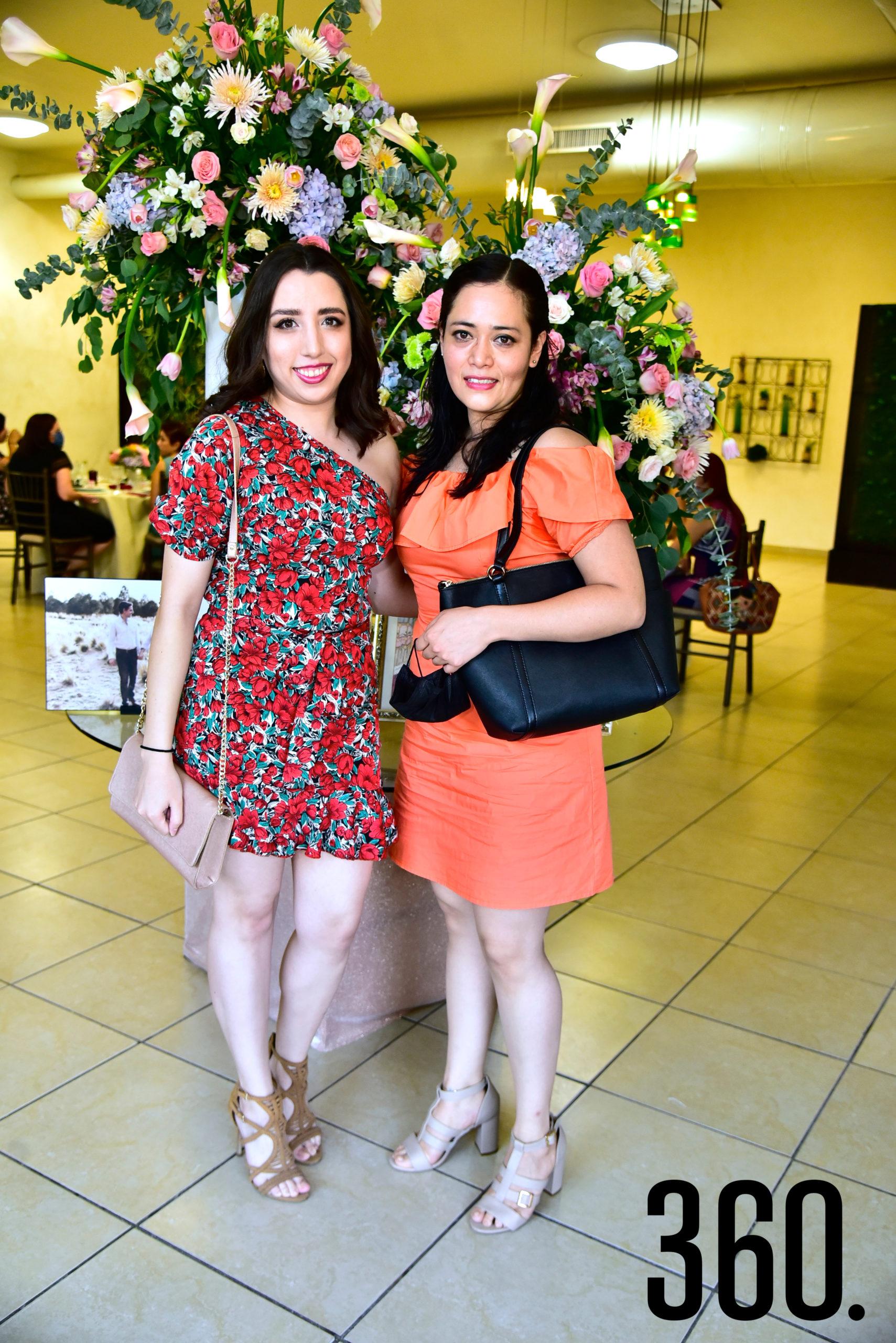 Fernanda Sánchez y Jaqueline López.
