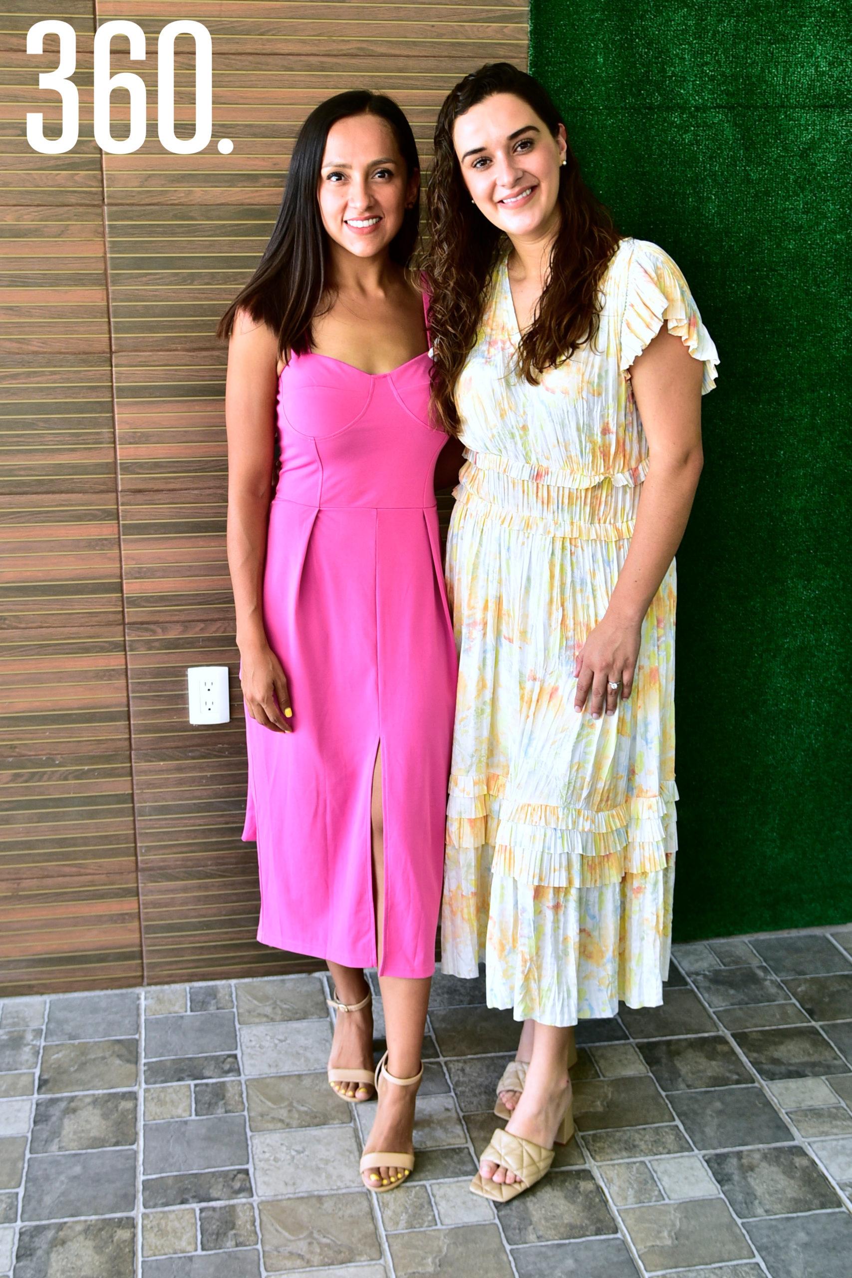 Laura de la Peña y Ana Lucia Paz.