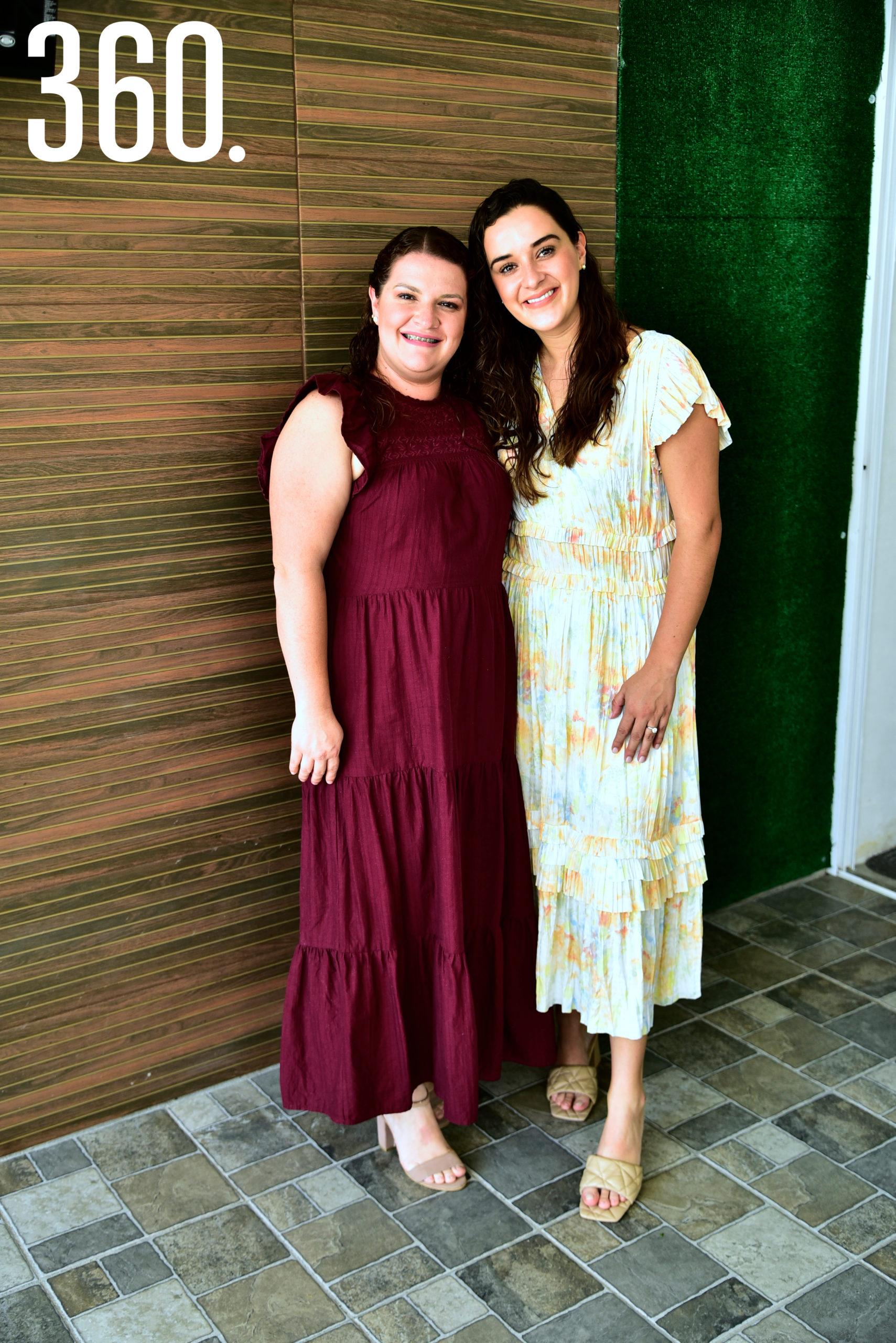 Lorena Paz y Ana Lucia Paz.