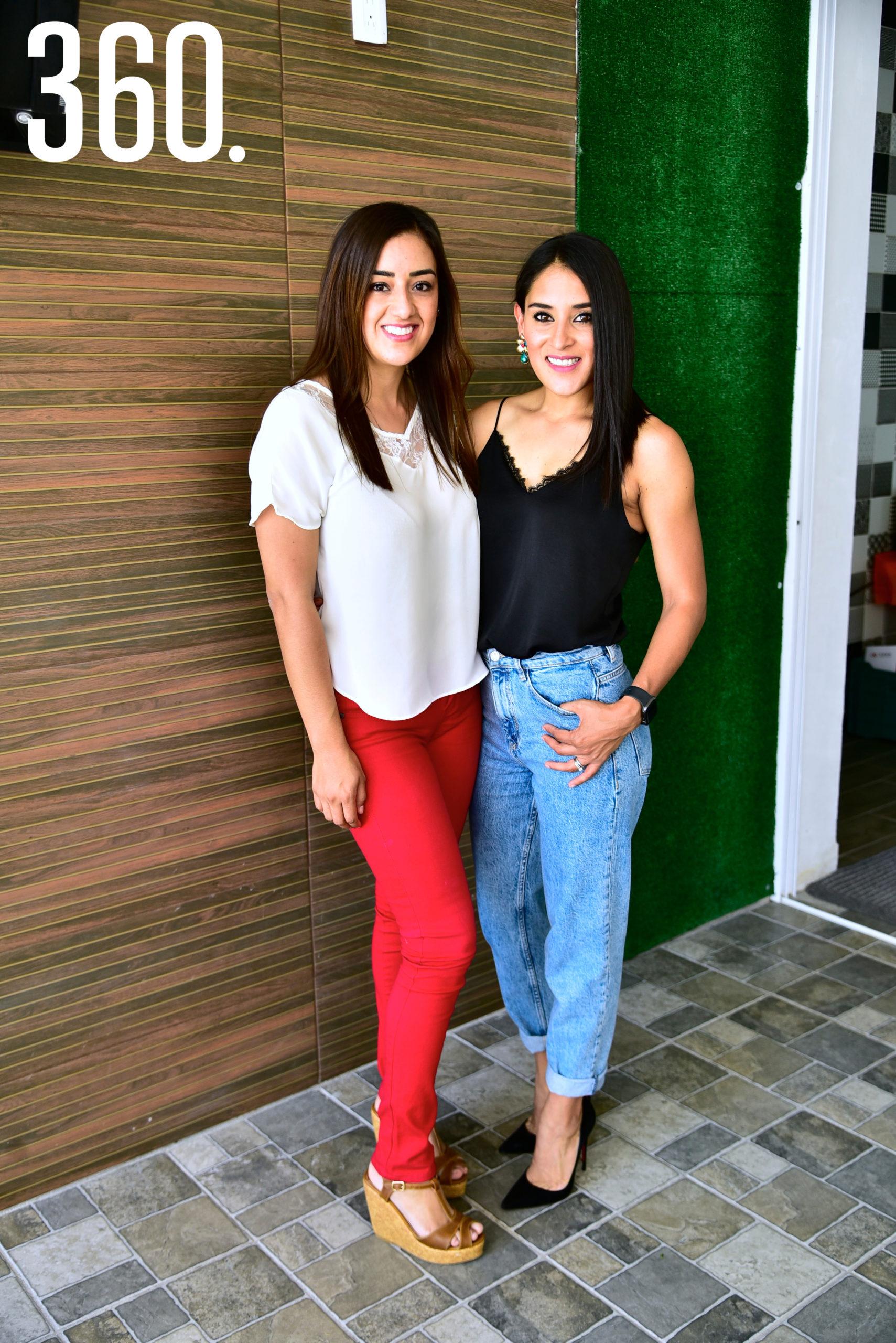 Evelin Leyva y Cindy Hernández.