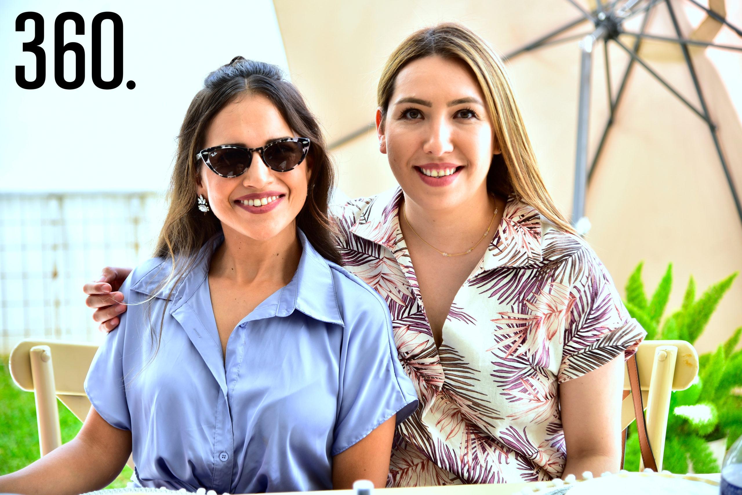 Perla Anaya y Ana Lucia Vallejo.