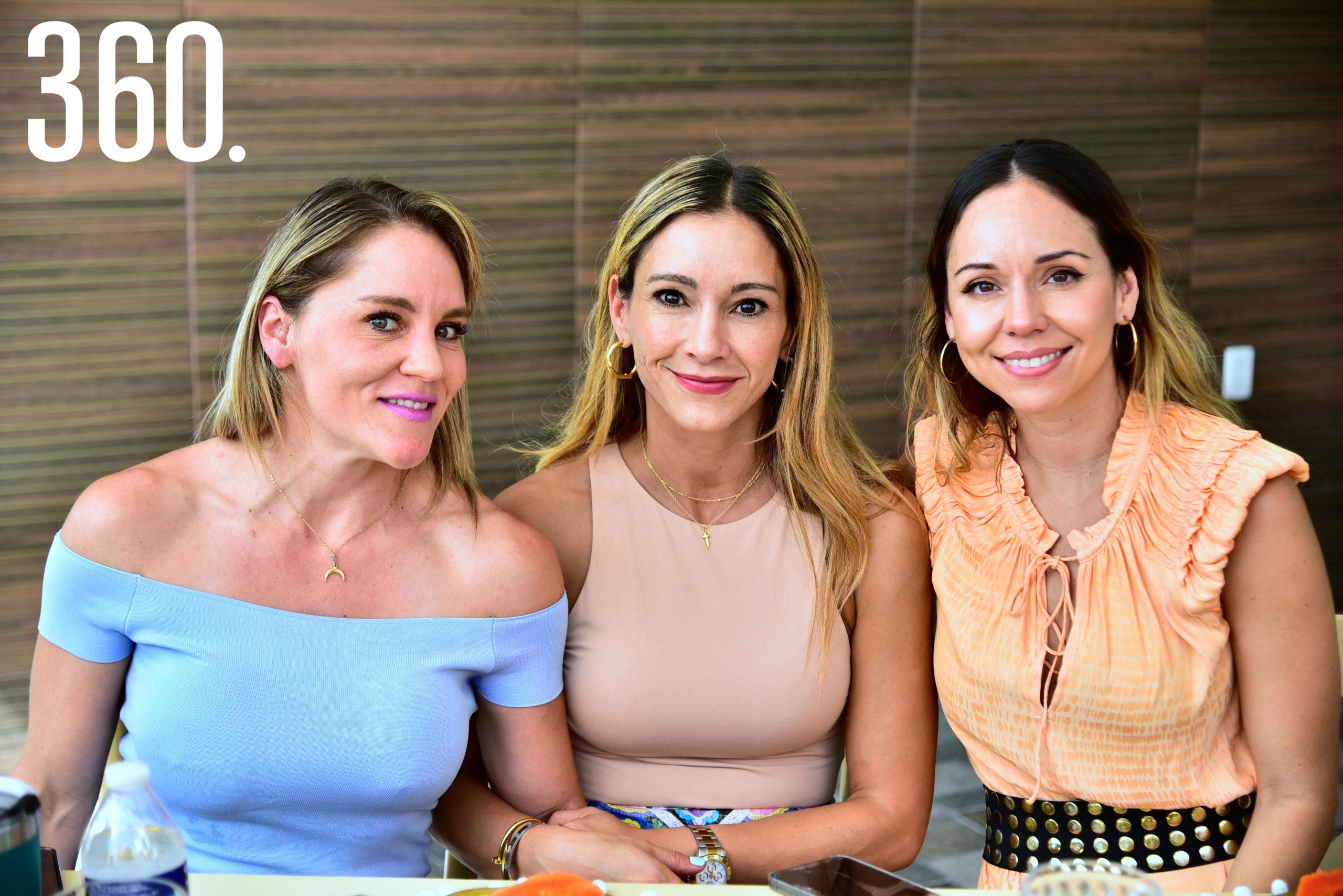Frida Siller, Melisa Rodríguez y María José Villalobos.