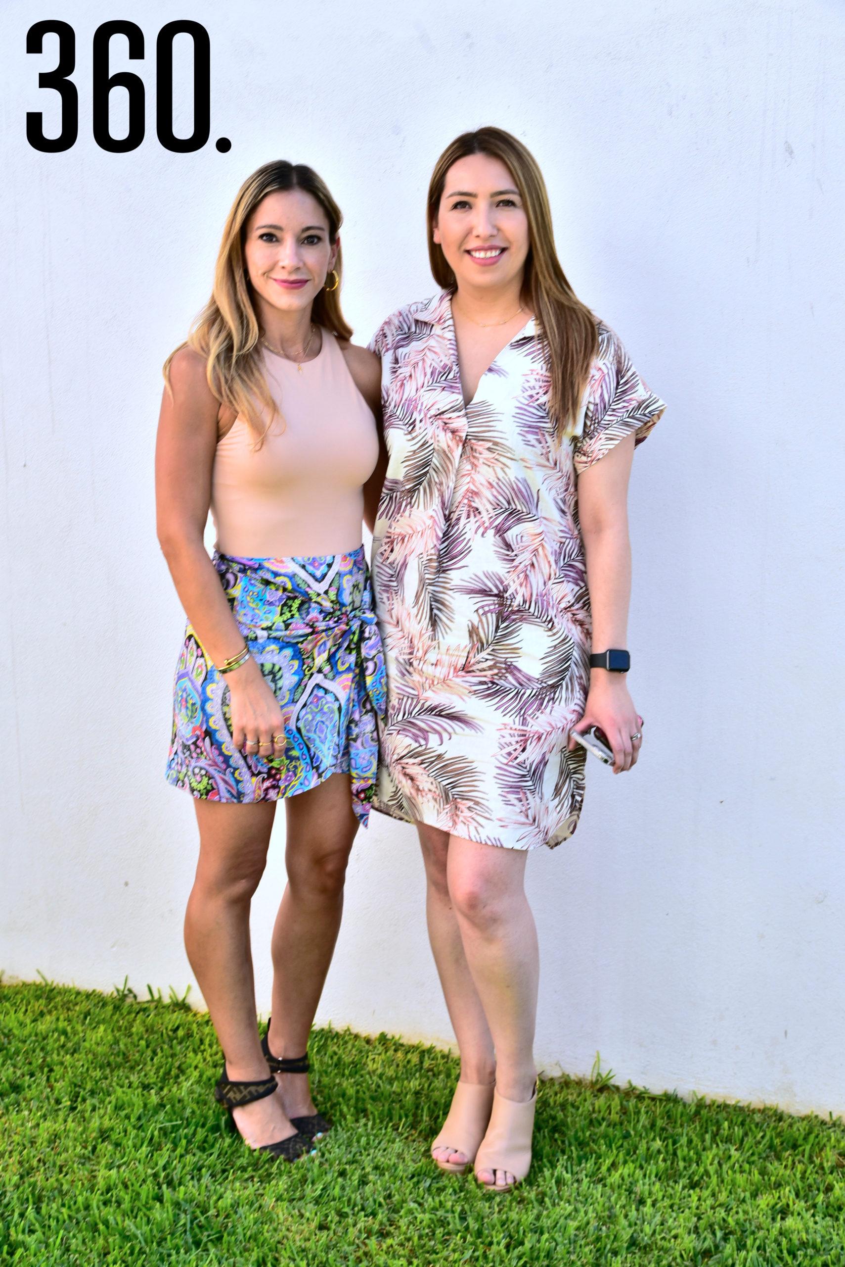 Melisa Rodríguez y Ana Lucia Vallejo.