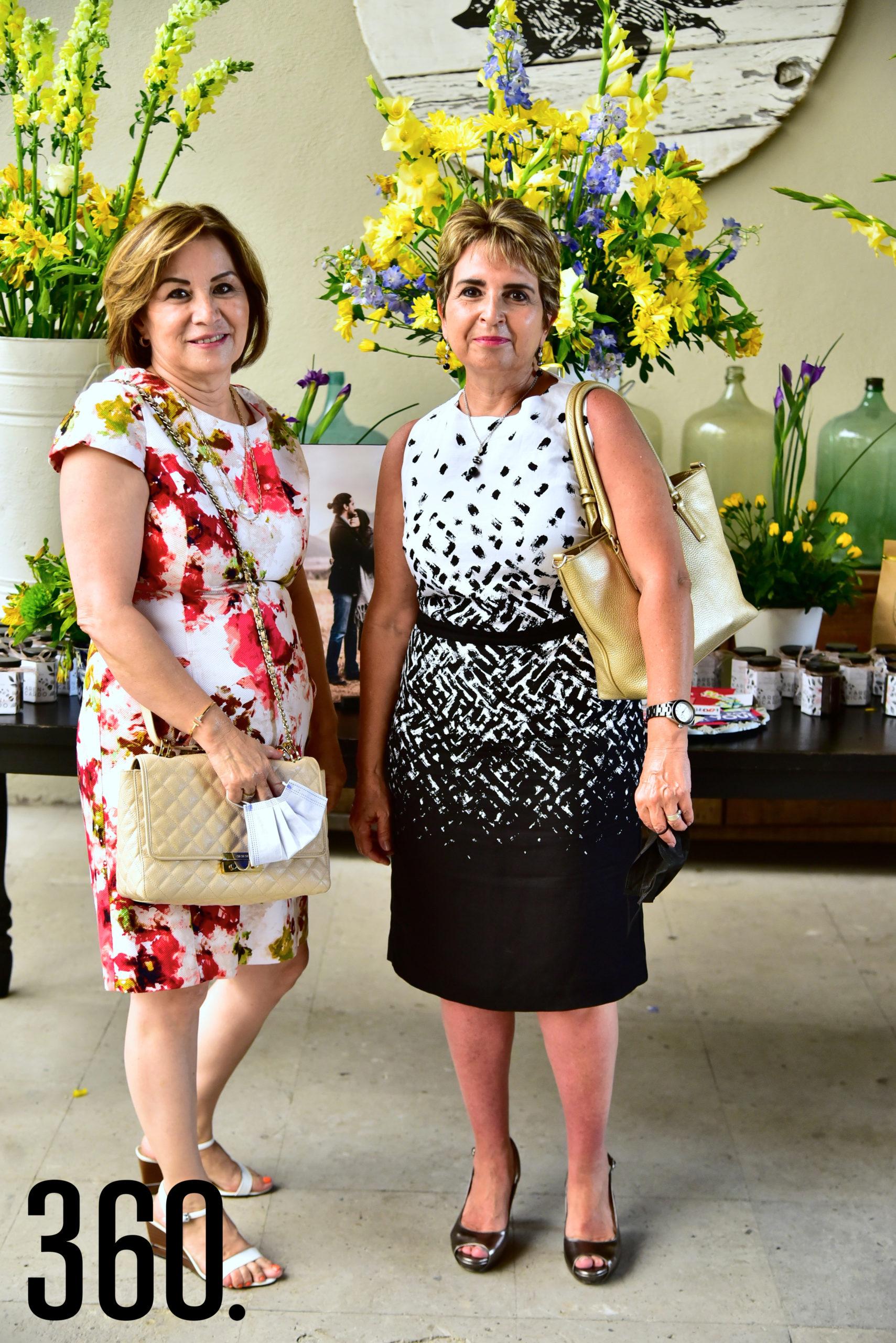 Ángeles Ríos y Marialba Rodríguez.