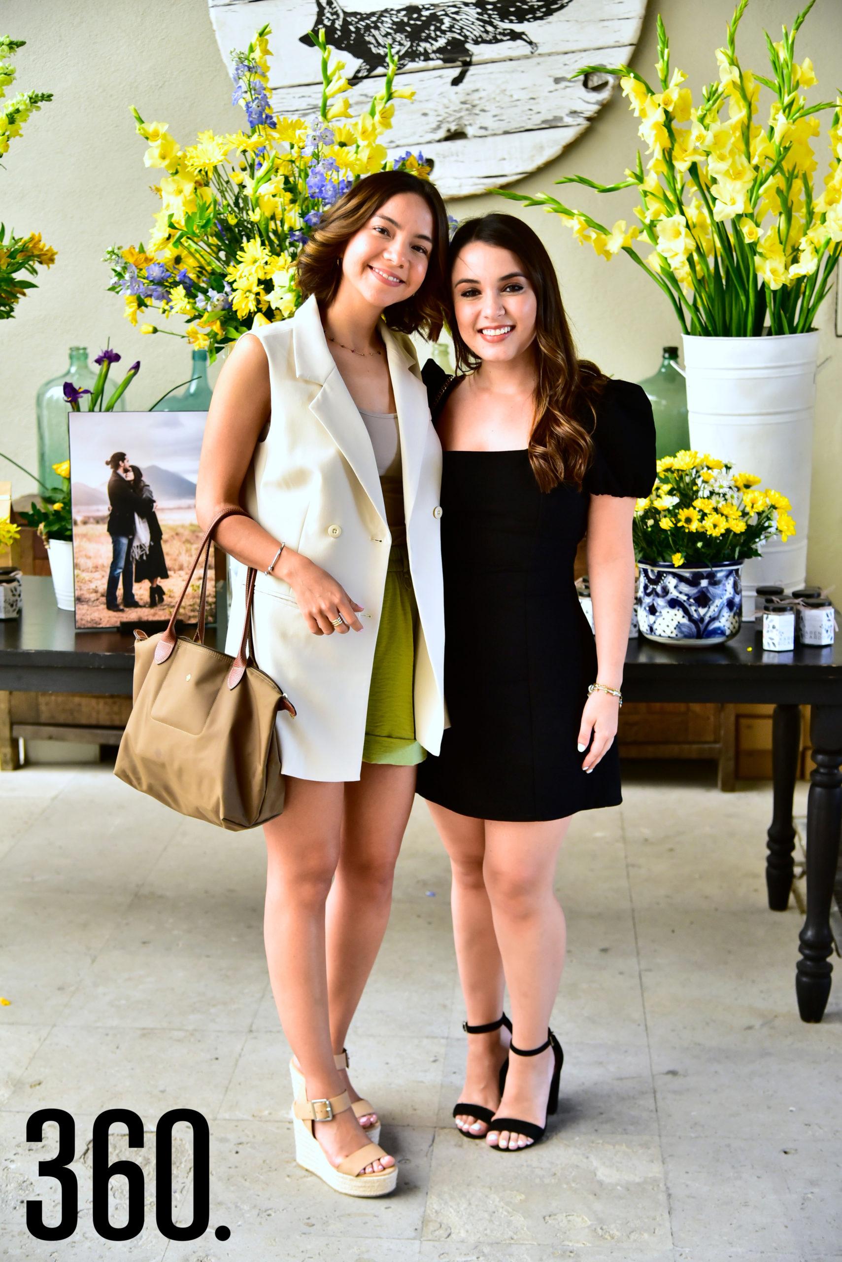 Sofía López y Diana Suarez.