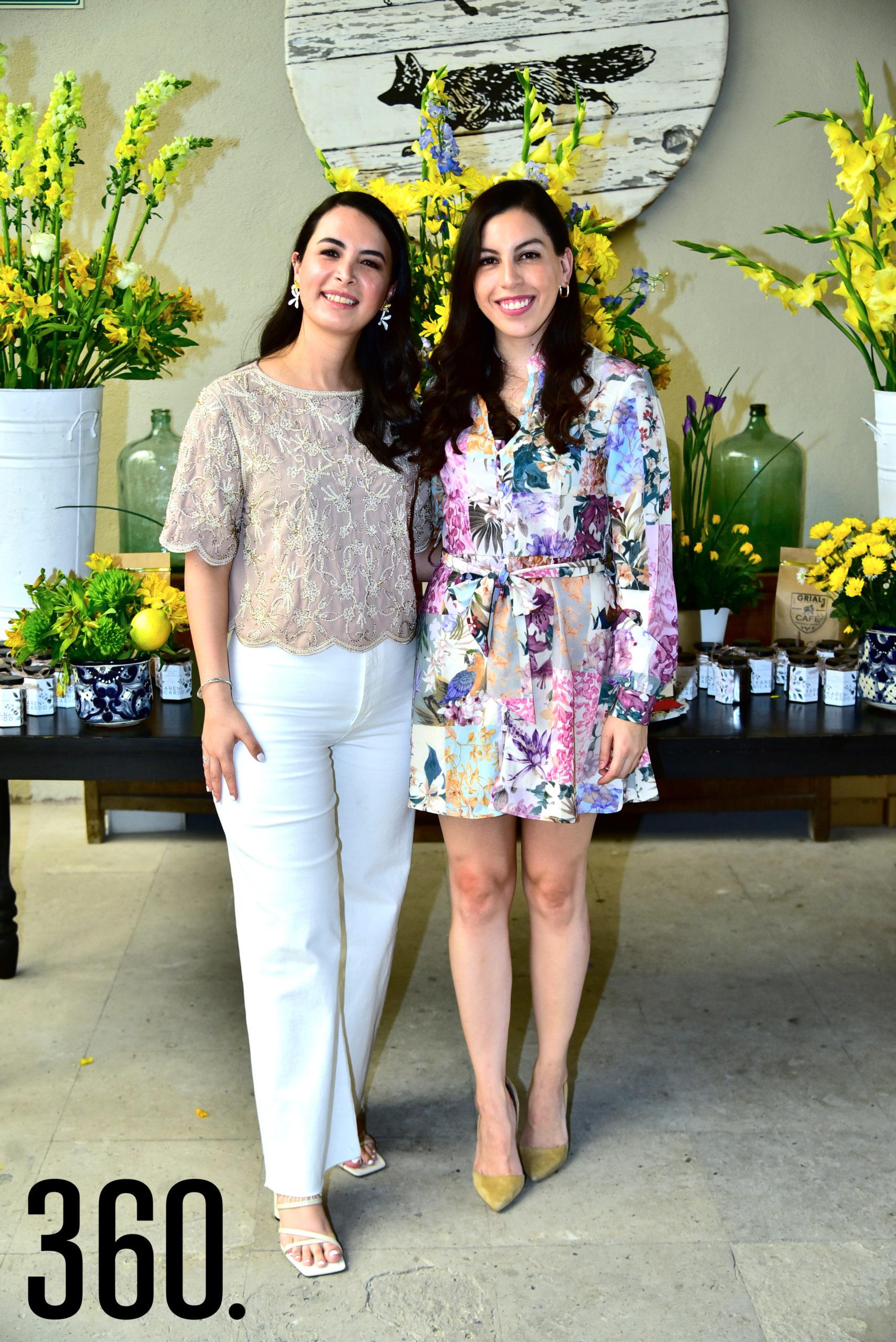 Adriana Aranda y Estefanía Menchaca.