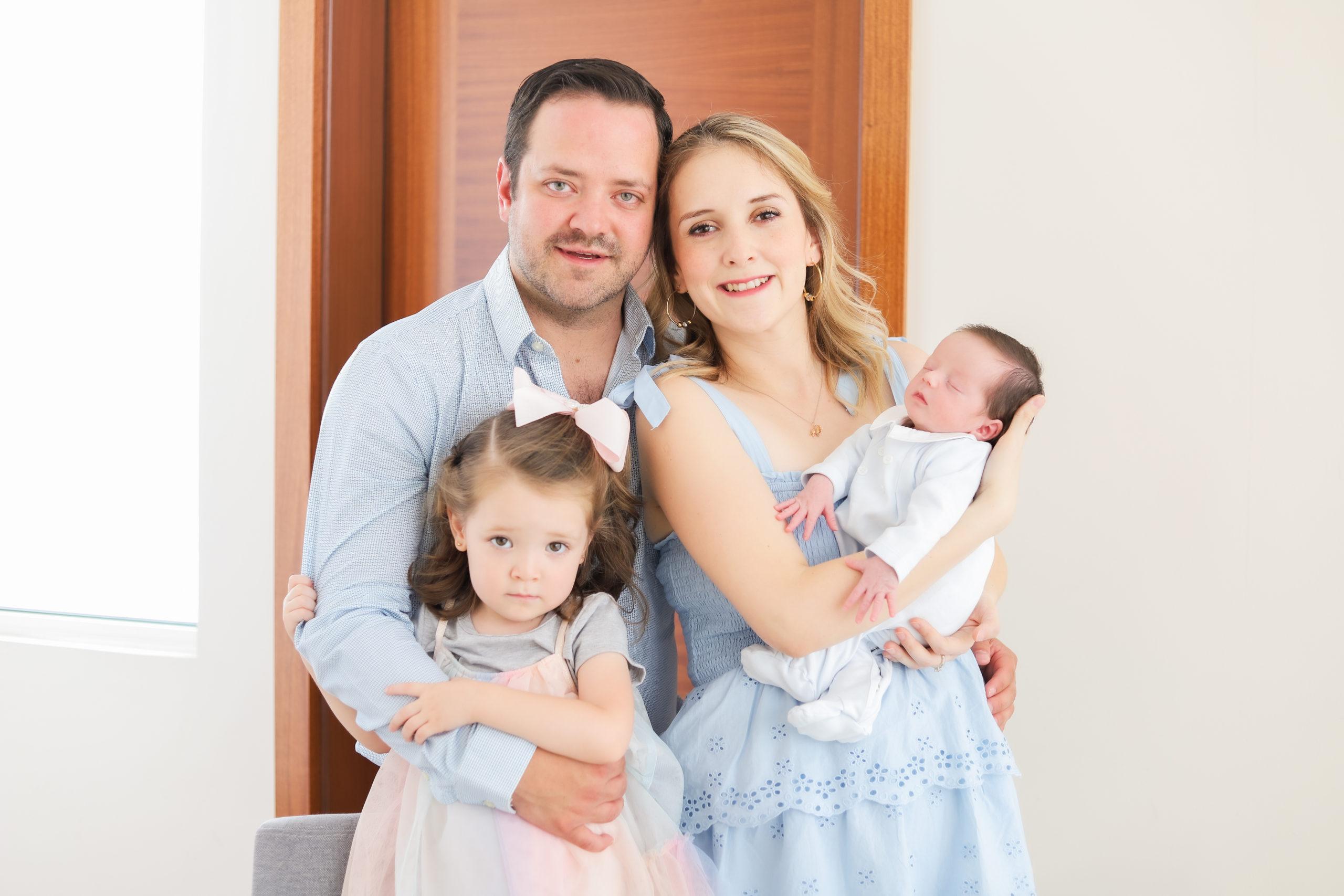 Familia de León Robles.