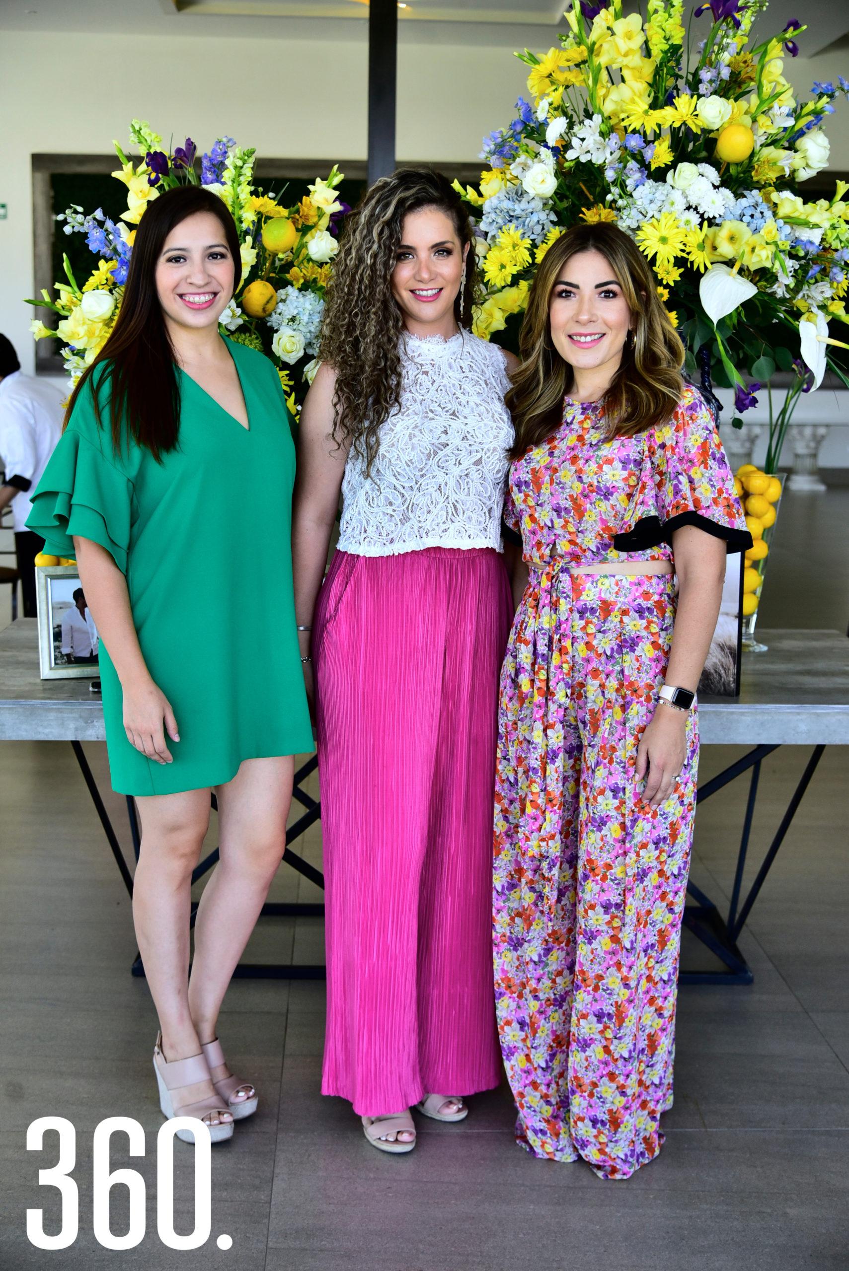 Valeria González, Diana Ayala y Beatriz Carrillo.