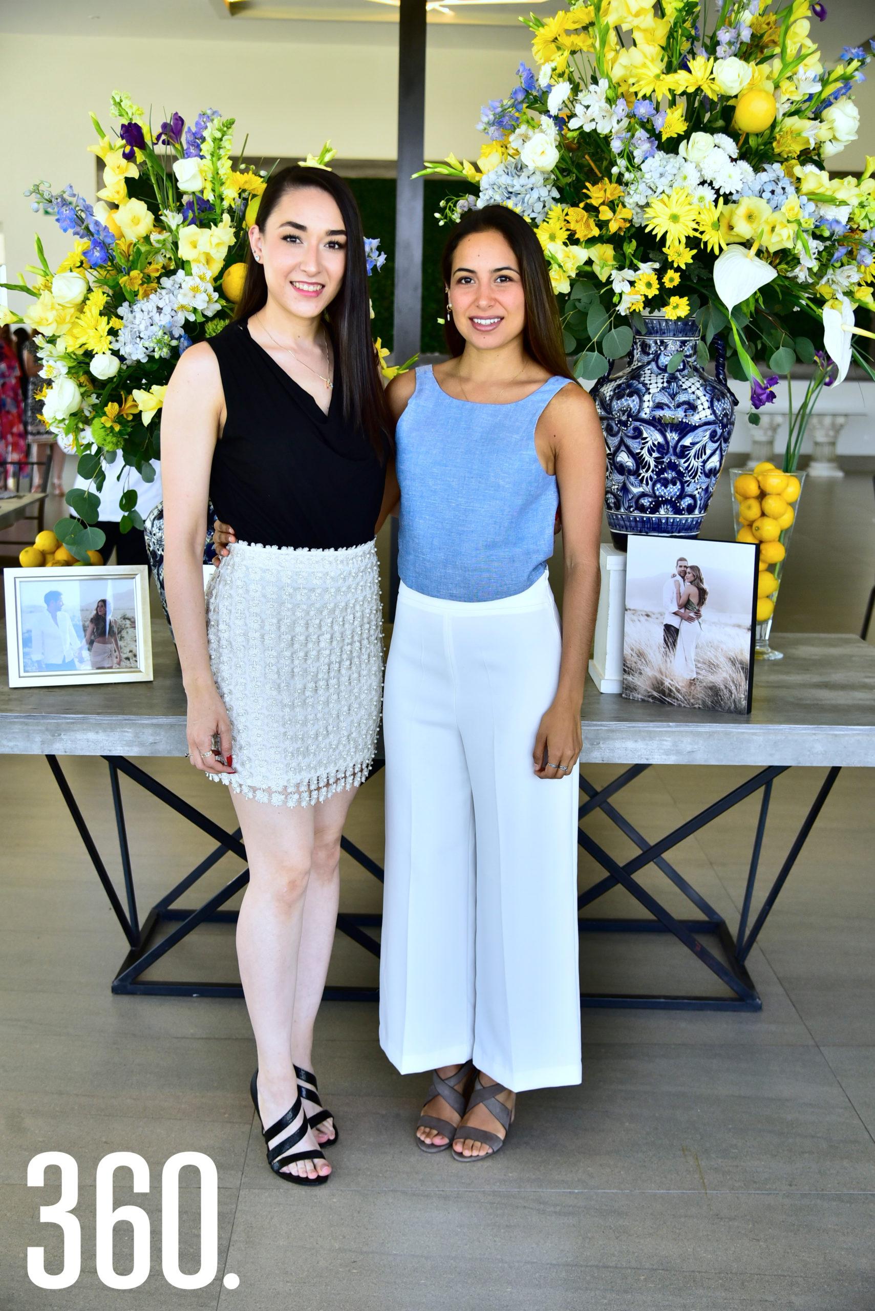 Andrea García y Fernanda Ármela.