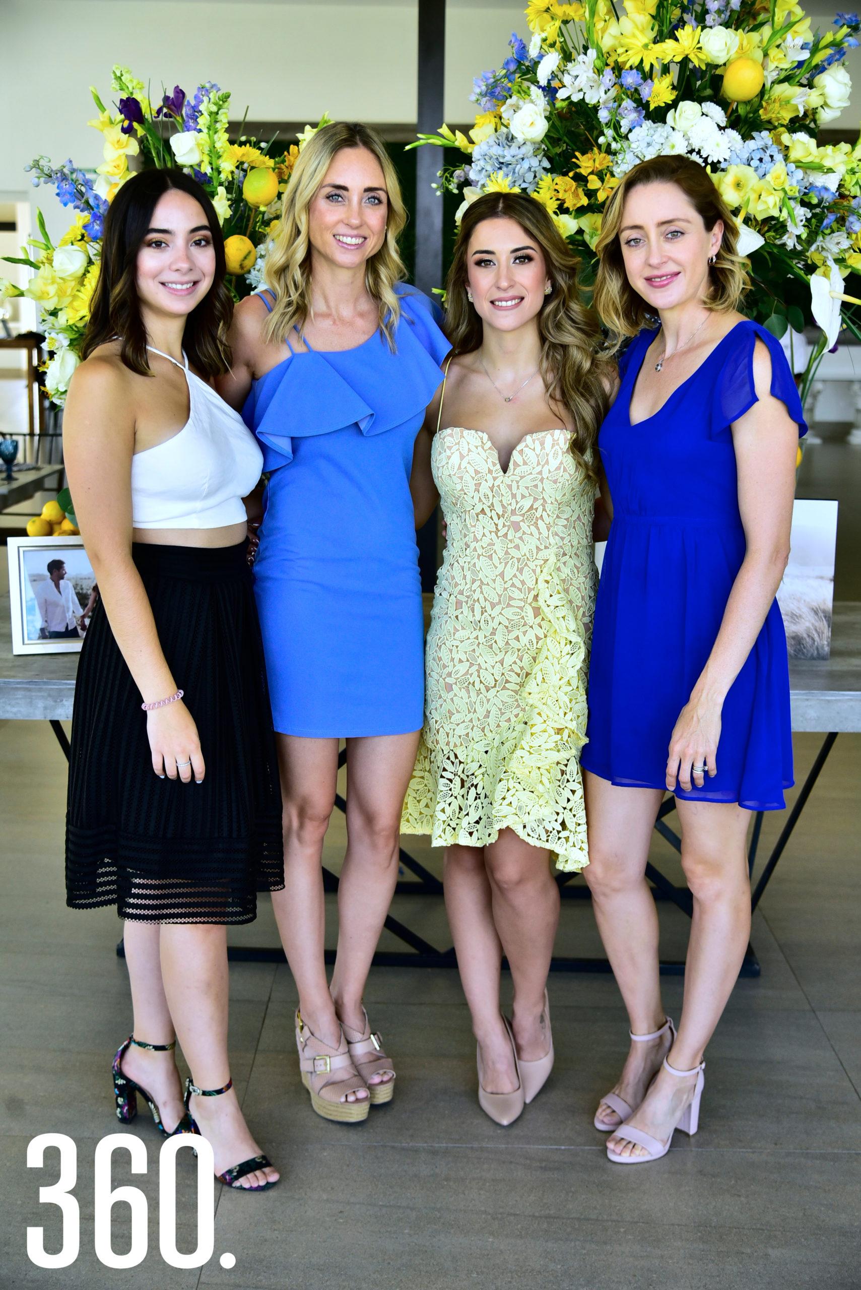 Ana Lorena Denigris, Sofía Denigris, María Isabel Ayup y Cristina Denigris.