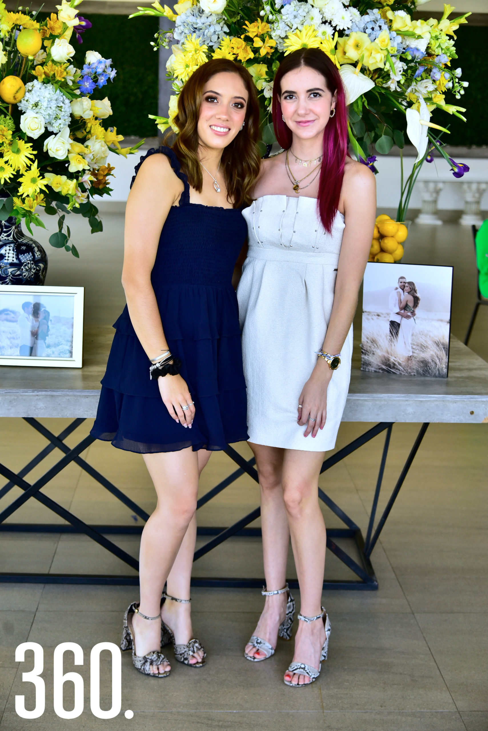Tere De León y Camila Aguirre.