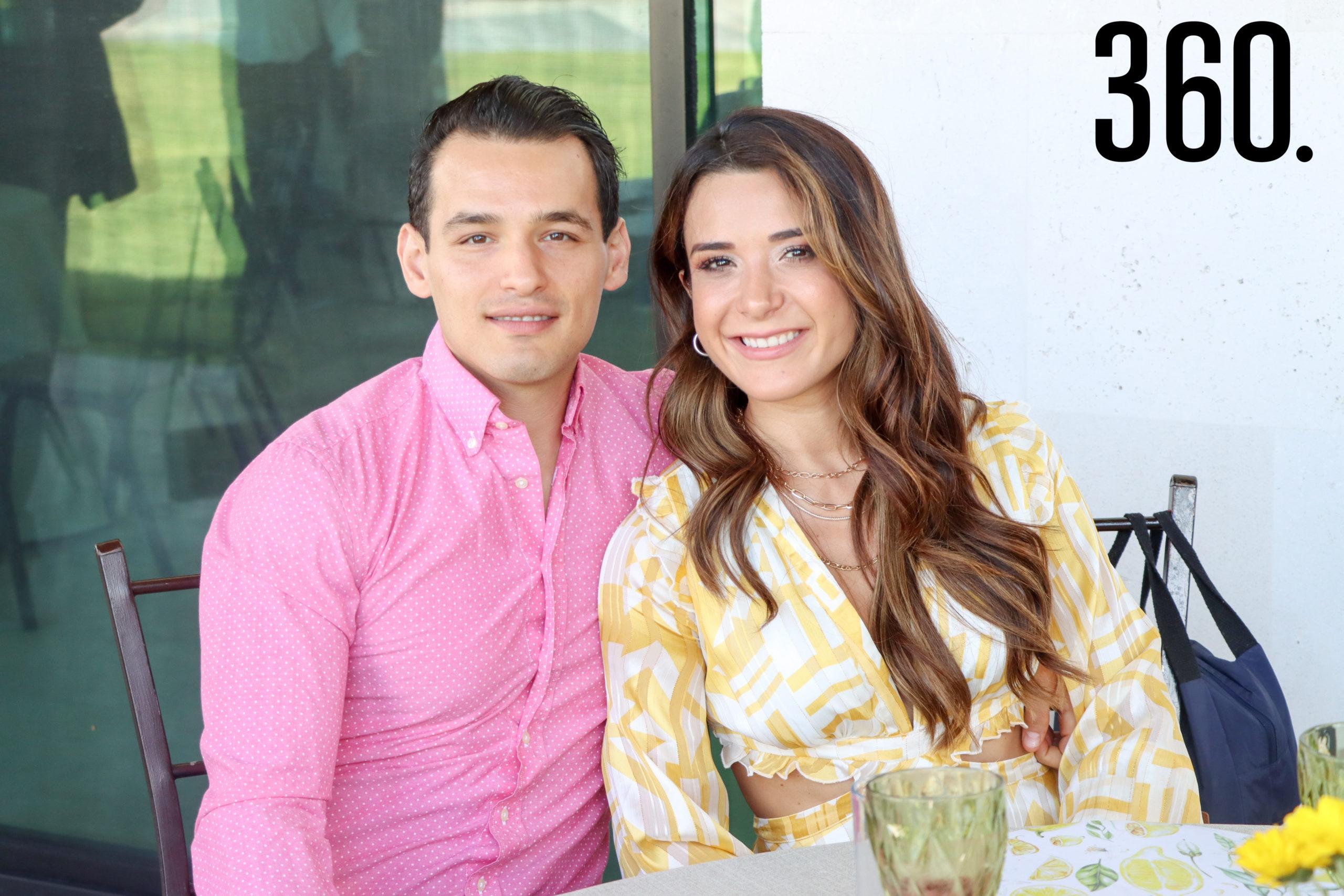 Andrés Segovia y Nancy Serna.