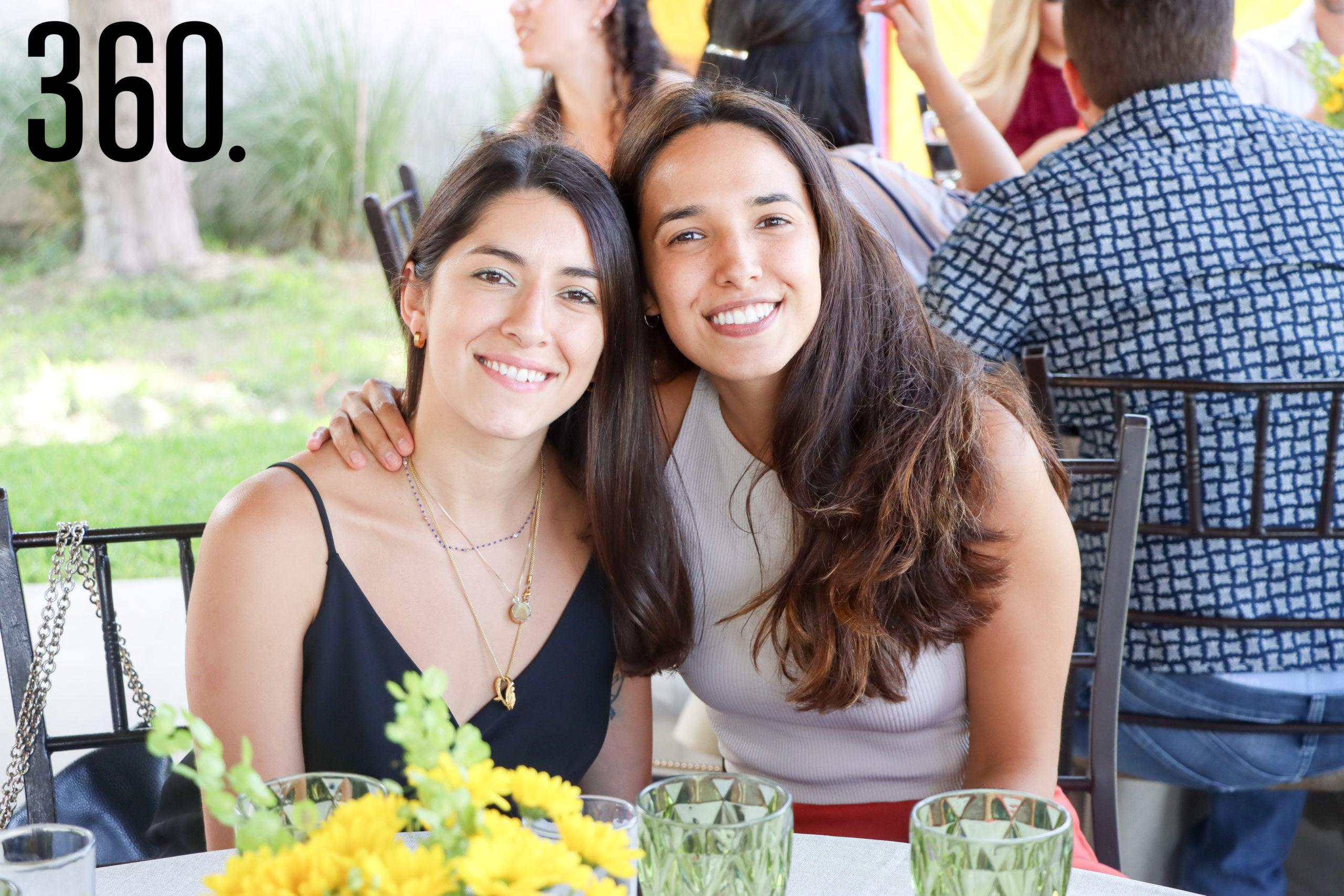 Andrea López y Fernanda Castillo.