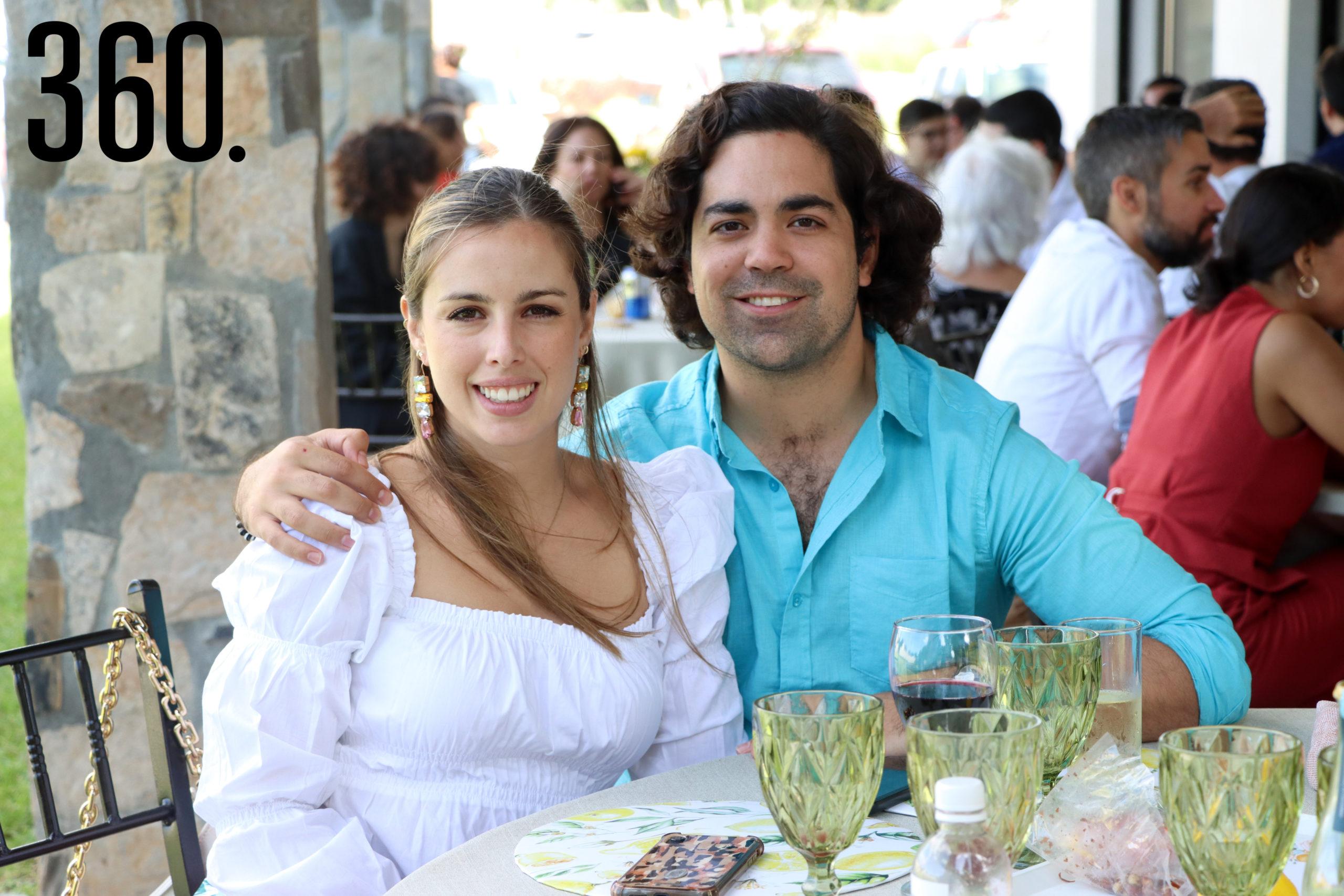 Andrea Recio y Rodrigo López.